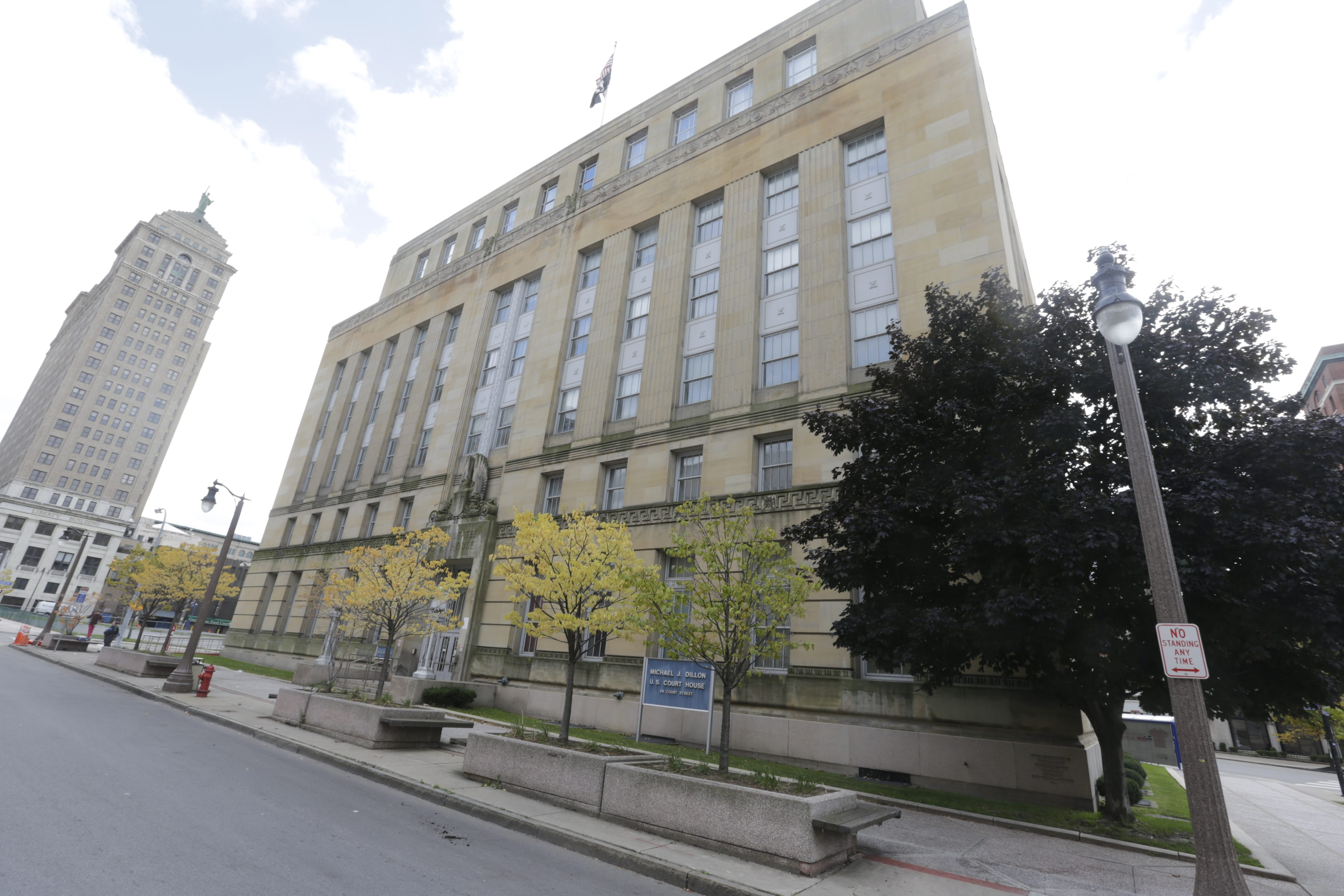 """If city officials get their wish, the Buffalo police and fire departments will relocate their respective headquarters to the former Michael J. Dillon Memorial U.S. Courthouse. The city's application to covert the site to a """"public safety headquarters"""" has already been submitted to the federal government, which declared the site """"surplus property"""" in November"""