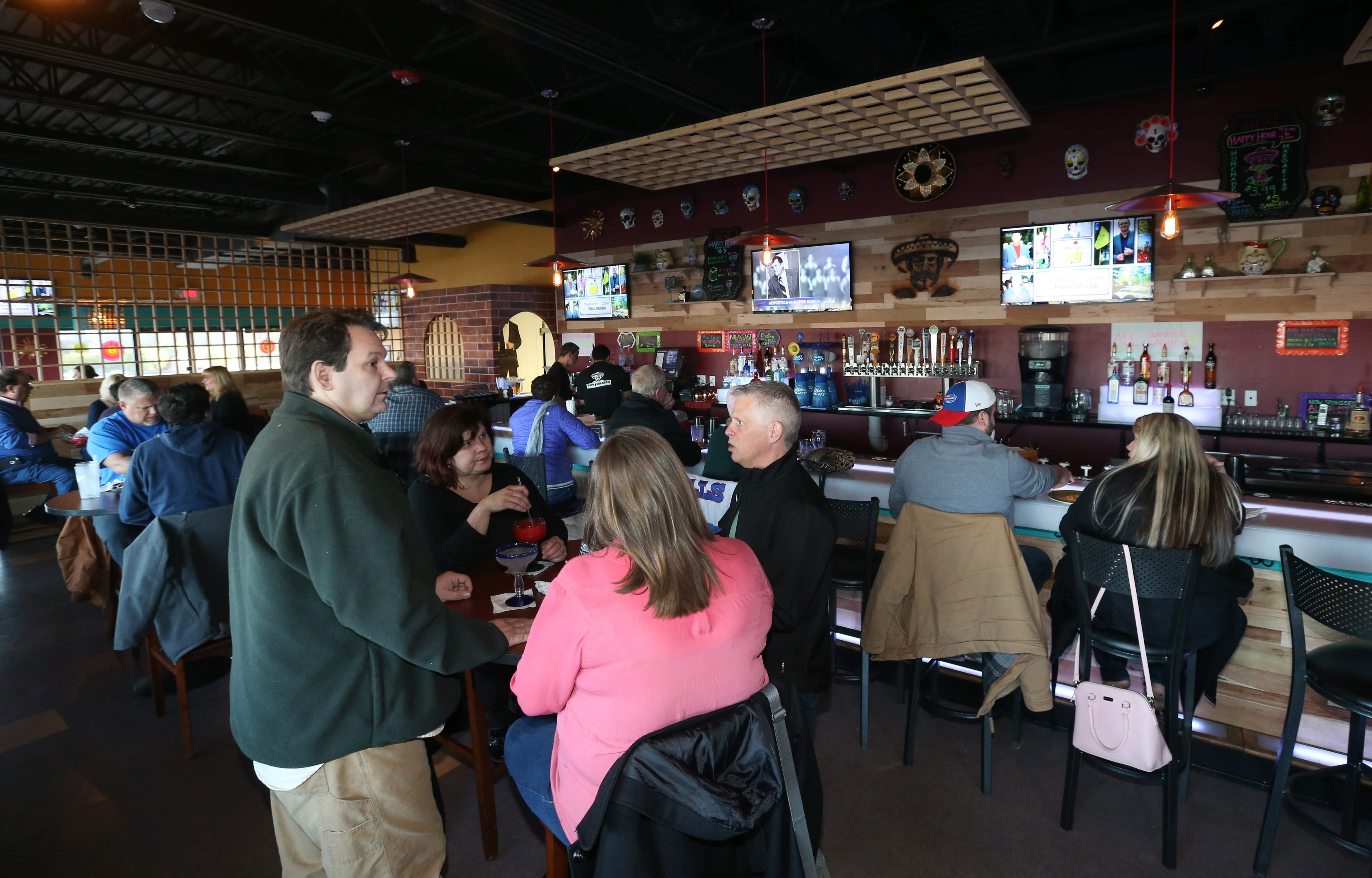 Papi Grande's Mexican Restaurant  & Cantina opened recently at 4276 Maple Road in Amherst next to the AMC Maple Ridge 8 theater in space formerly occupied by The U.