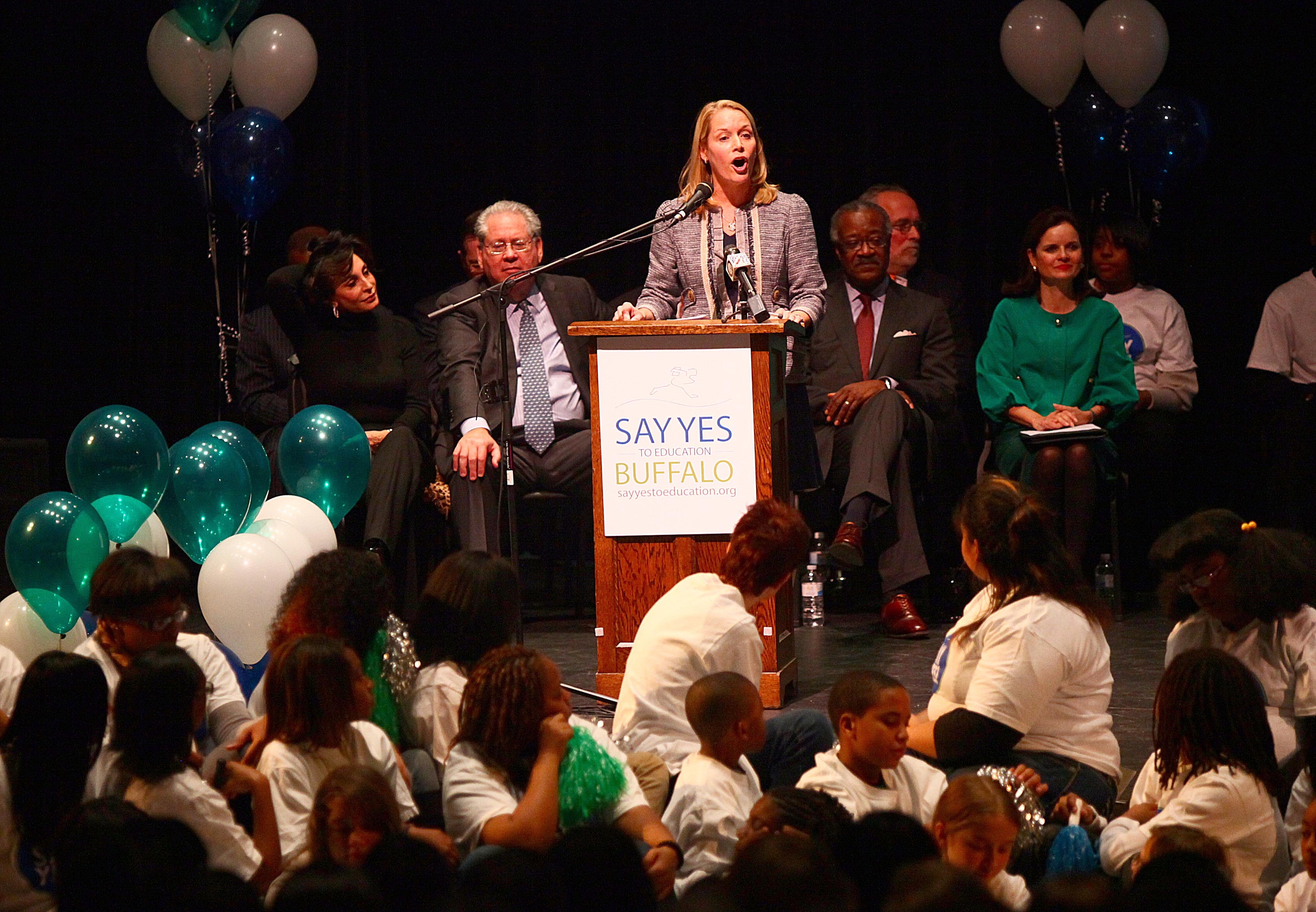 Say Yes Buffalo began its work in Buffalo four years ago. Its efforts have helped increase the number of graduates continuing their educations at a two- or four-year college.