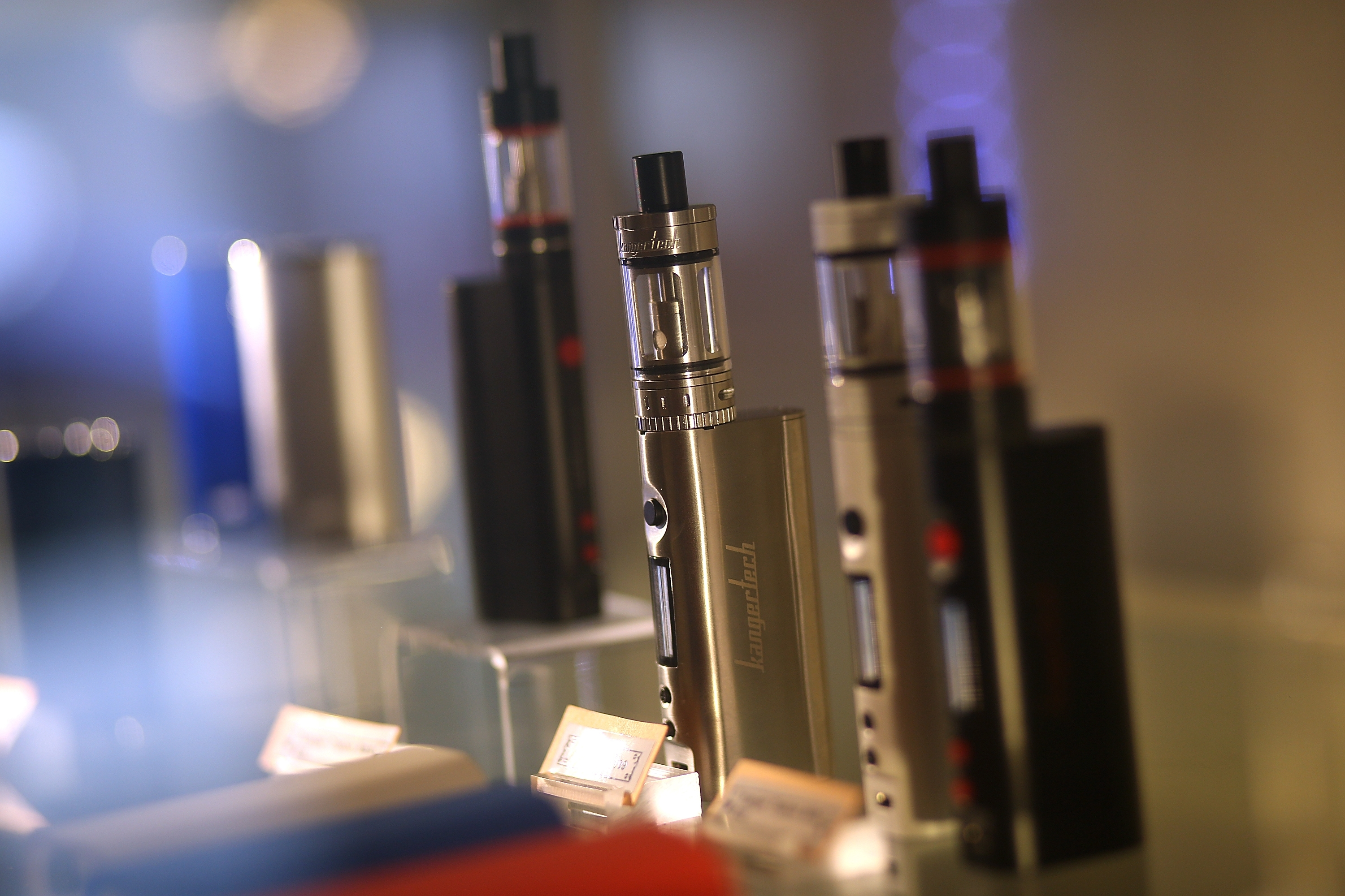 The Food and Drug Administration announced sweeping new rules to regulate electronic cigarettes. (Getty Images)