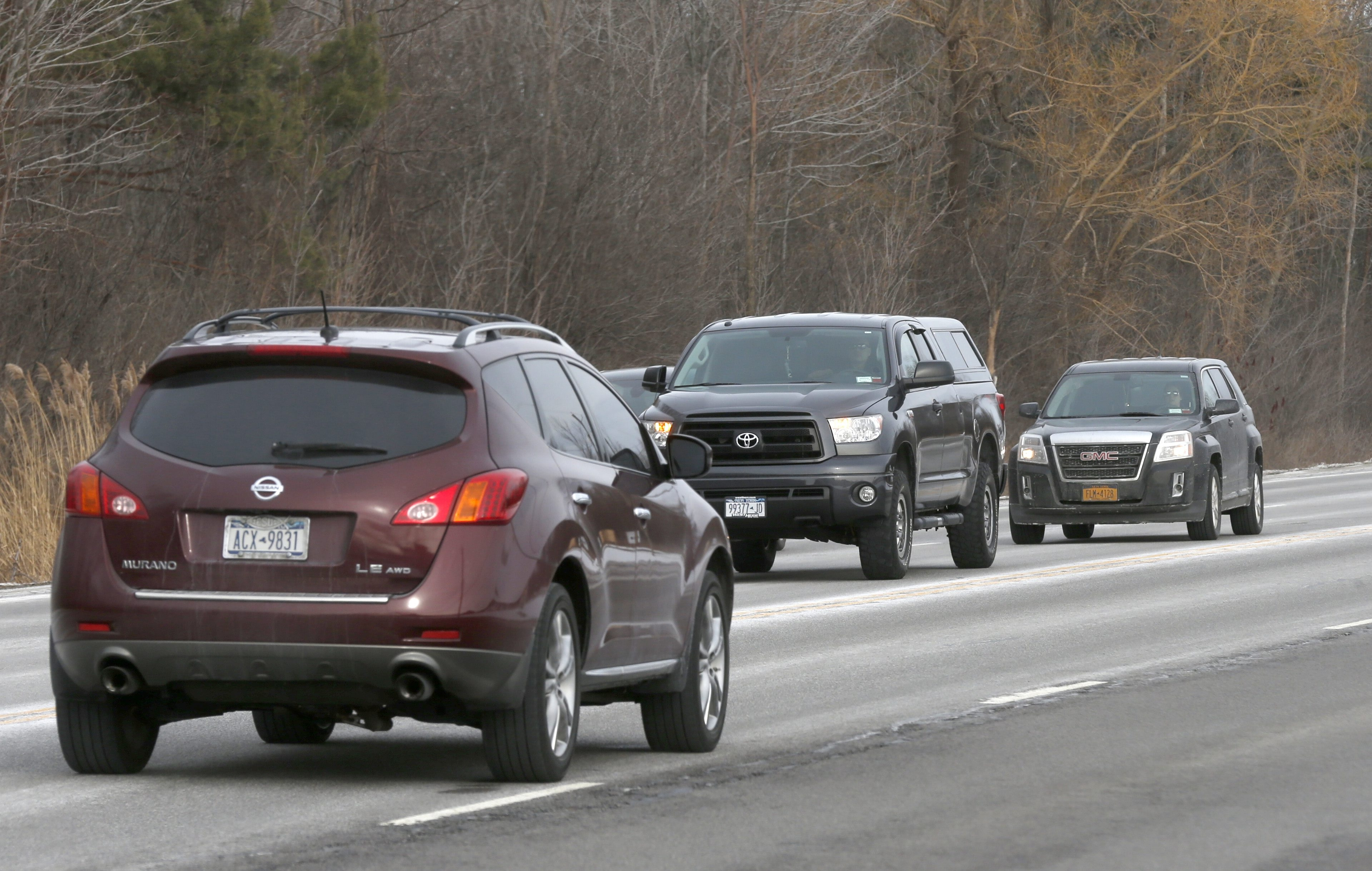 Hamburg officials are asking the state to take measures to improve safety on the busy stretch of Southwestern Boulevard between Amsdell and Pleasant.  (Robert Kirkham/Buffalo News file photo)