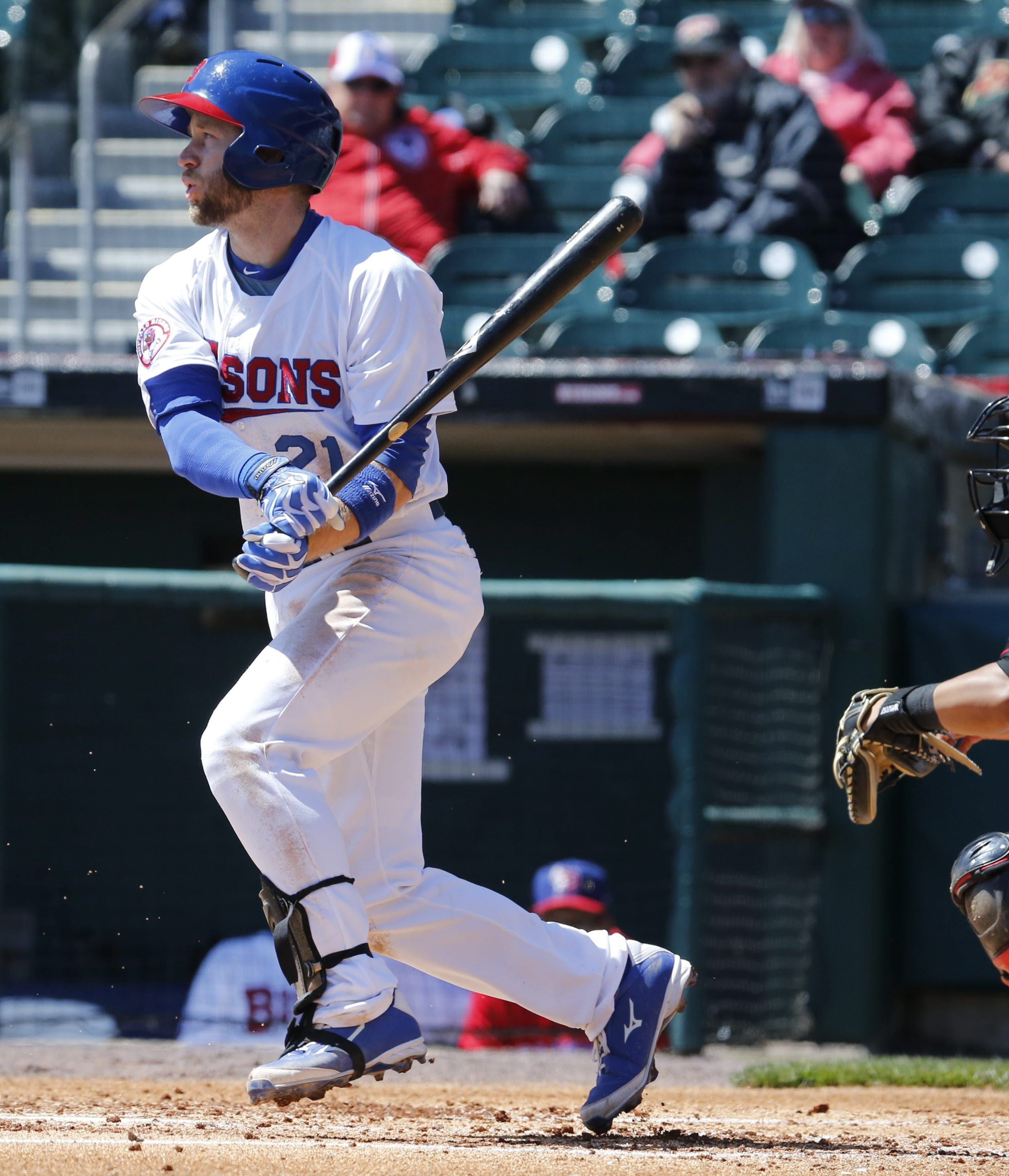 David Adams hopes he's on the comeback trail with the Bisons. (Harry Scull Jr./Buffalo News)
