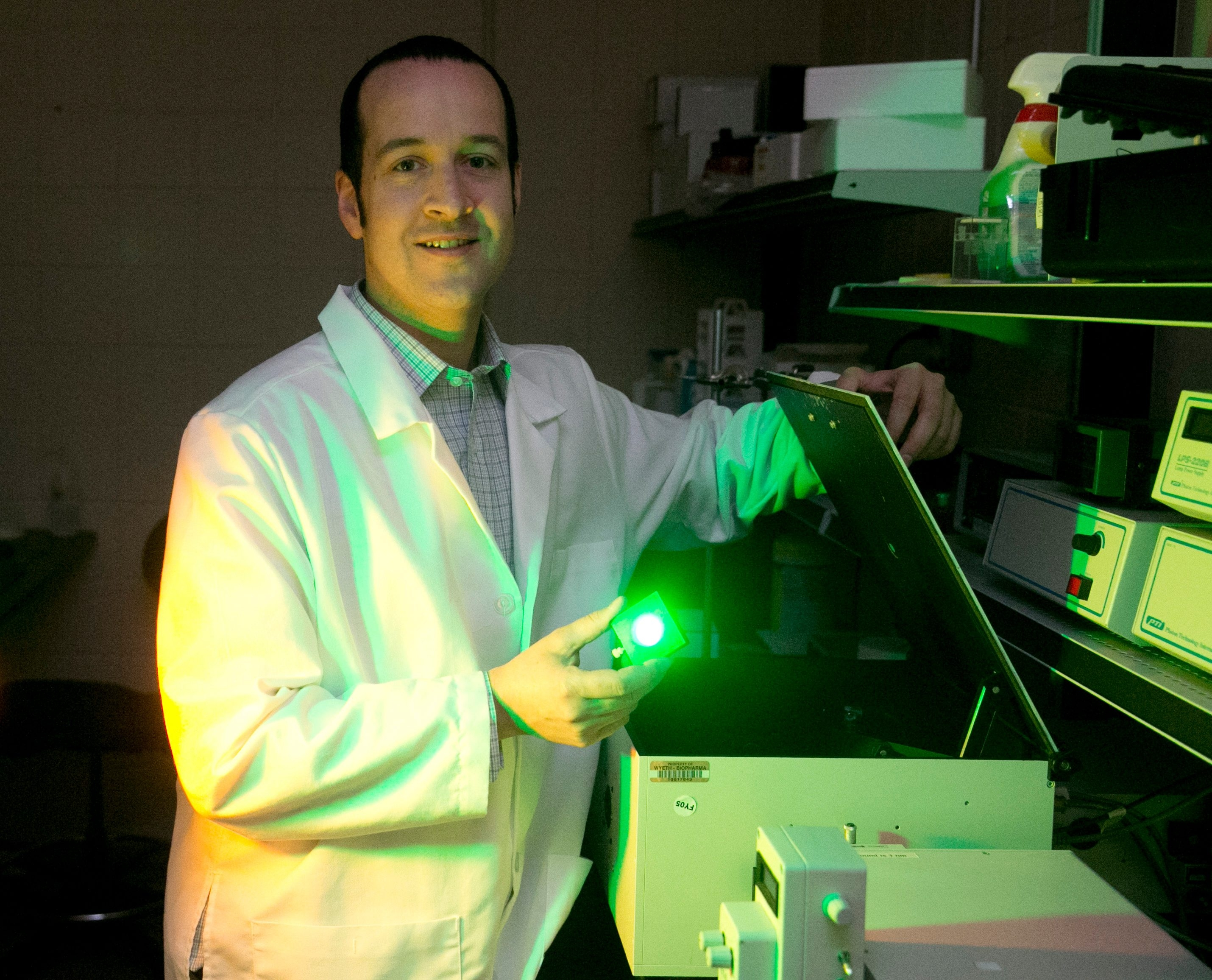 Jonathan Lovell, an assistant professor of biomedical engineering at UB since 2012, has already helped found two companies.