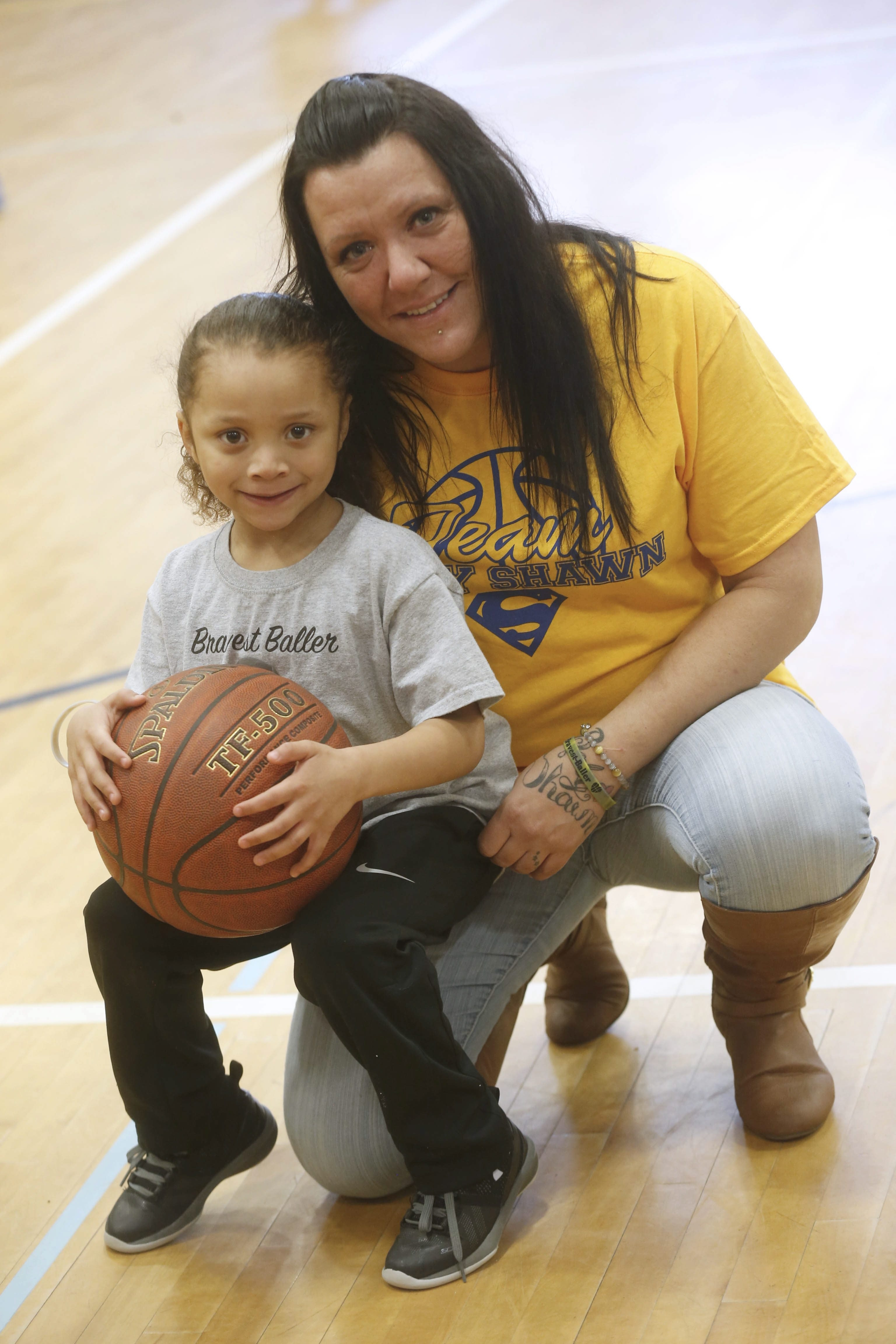 Shawn Kennedy, 5, and his mother, Nicole Vathy. (Robert Kirkham/News file photo)