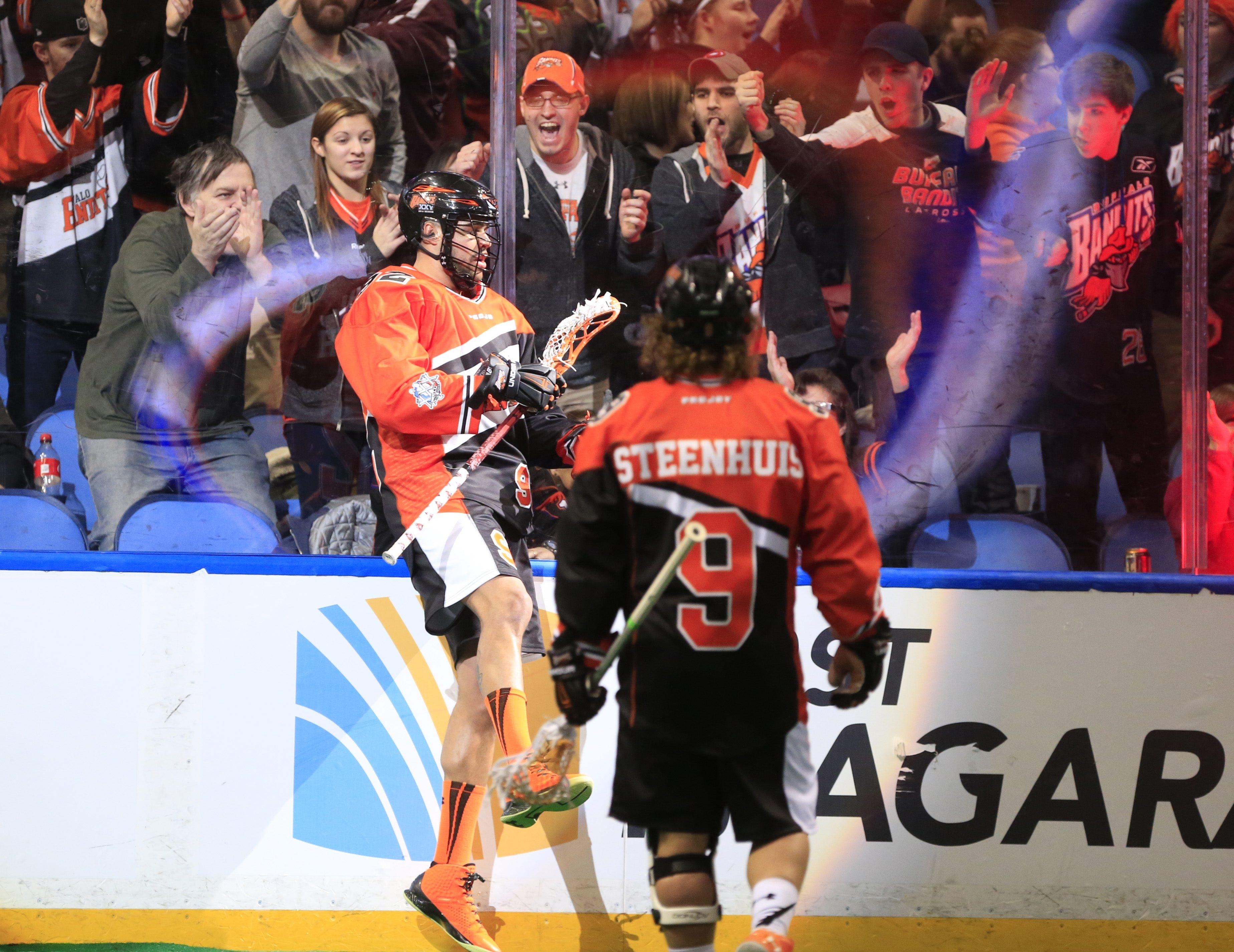 Buffalo's Dhane Smith has been a big reason for the Bandits' success this season.