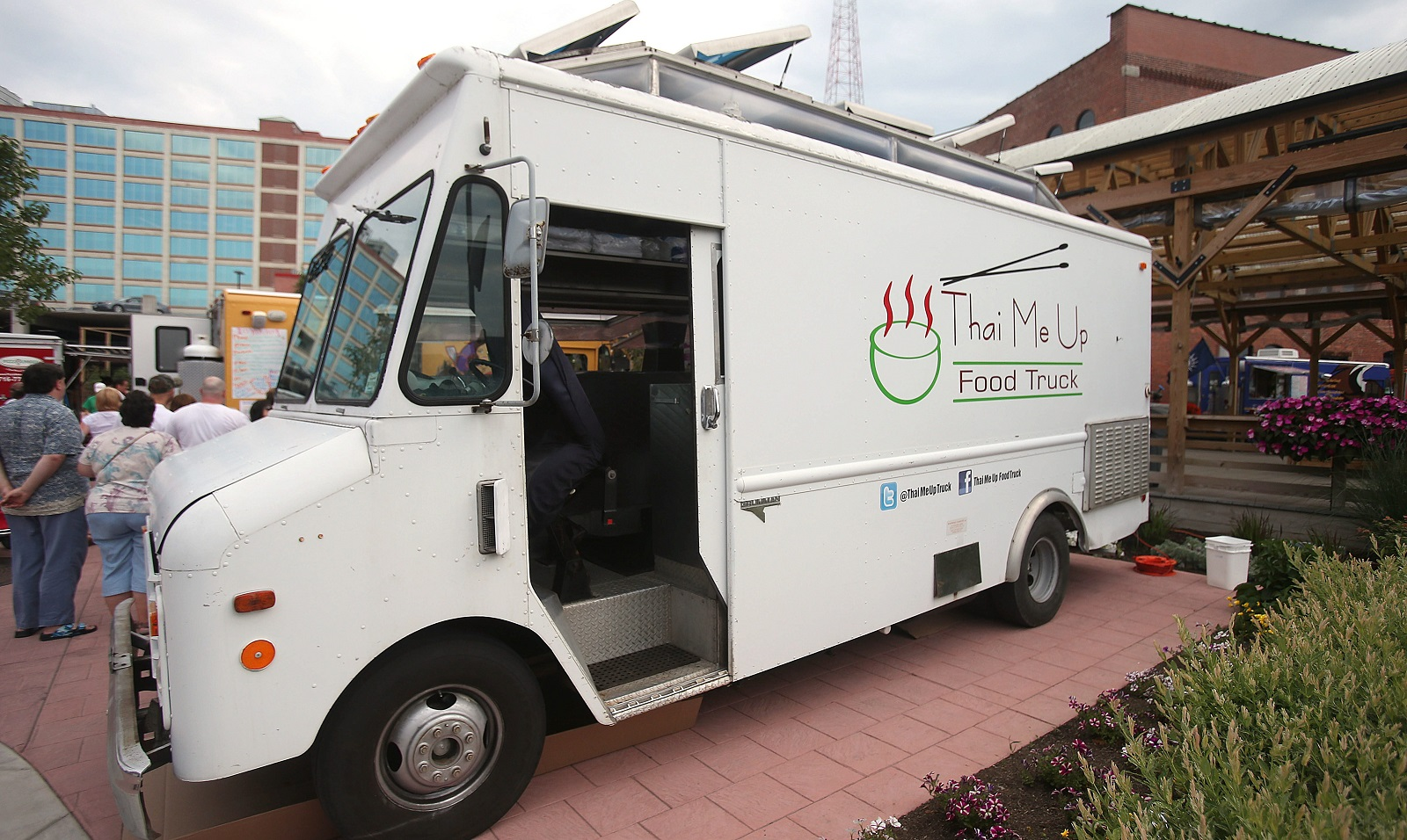 Thai Me Up food truck, pictured in 2013. (Robert Kirkham/Buffalo News file photo)