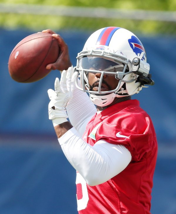 With the help of technology, the Bills' coaches are seeing how well Tyrod Taylor sees the field.