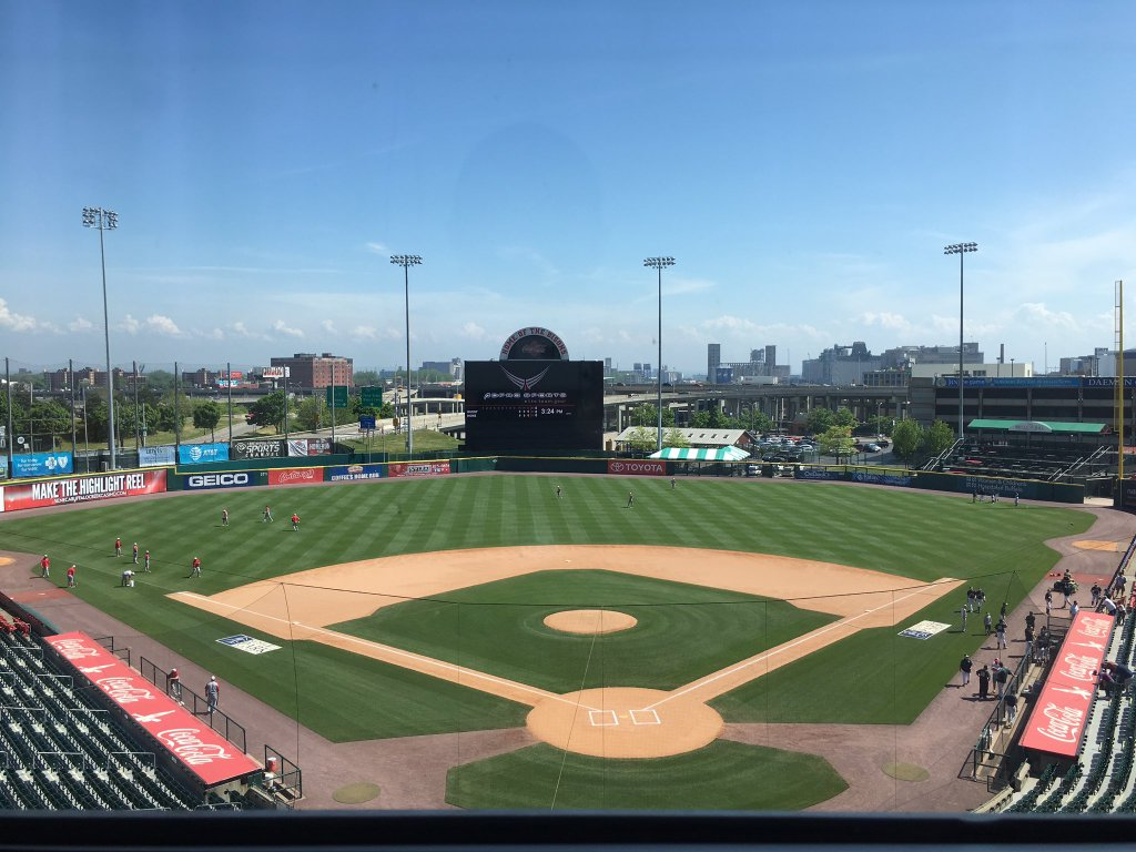 Coca-Cola Field is hosting Game Two of the Georgetown Cup. (Corey Desiderio)