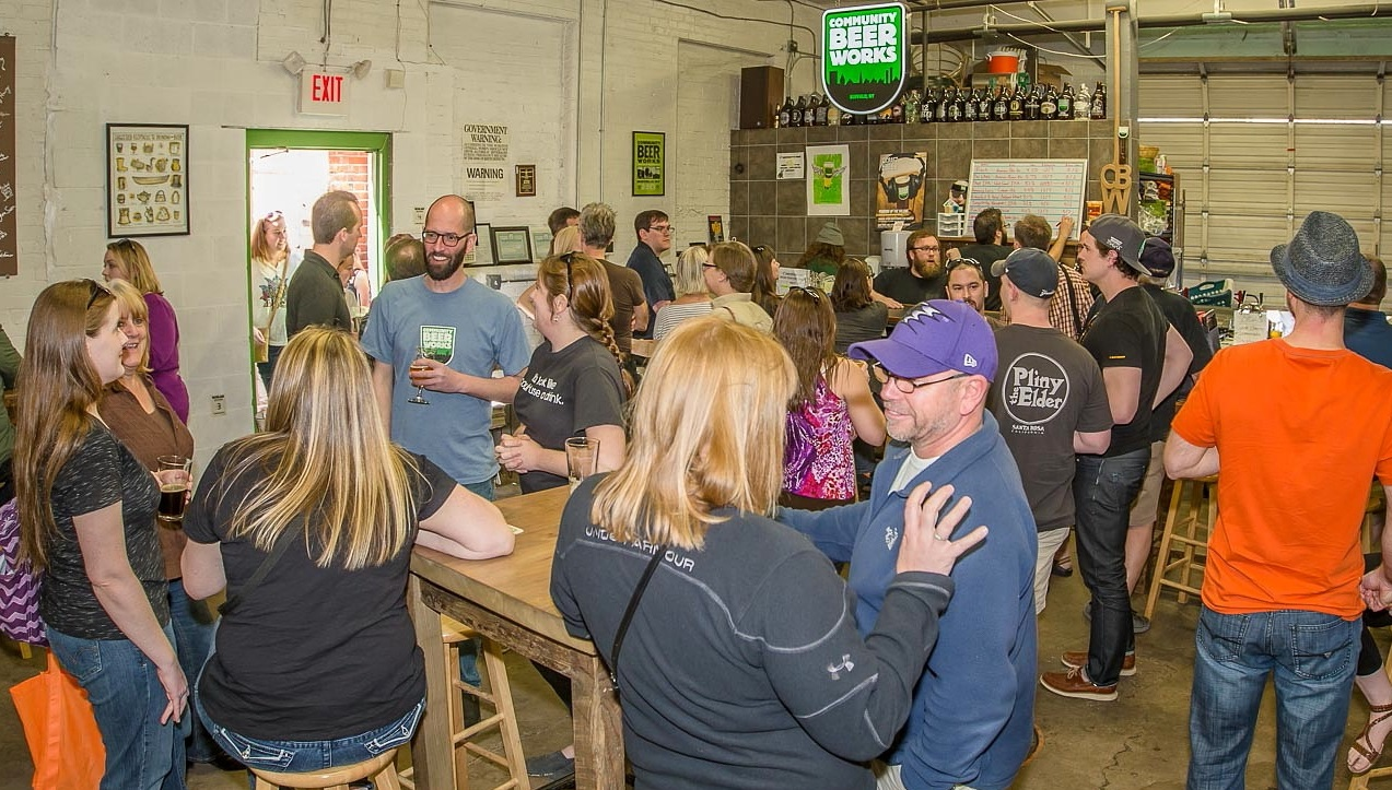 Community Beer Works hosts its first 'Beer Buy-Back' event on May 21. (Don Nieman/Special to The News)