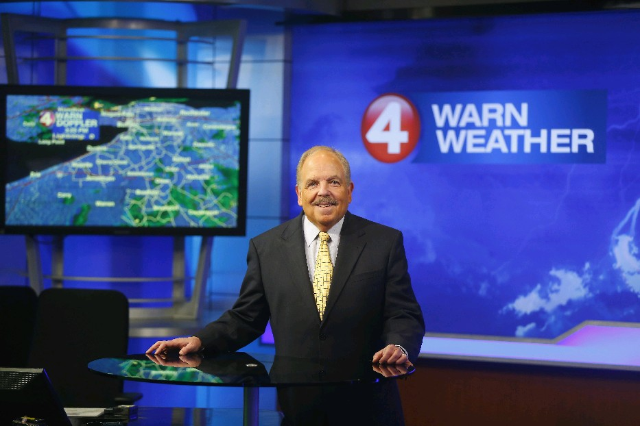 Longtime local TV  meteorologist Don Paul will begin writing for The Buffalo News. (Mark Mulville/Buffalo News)