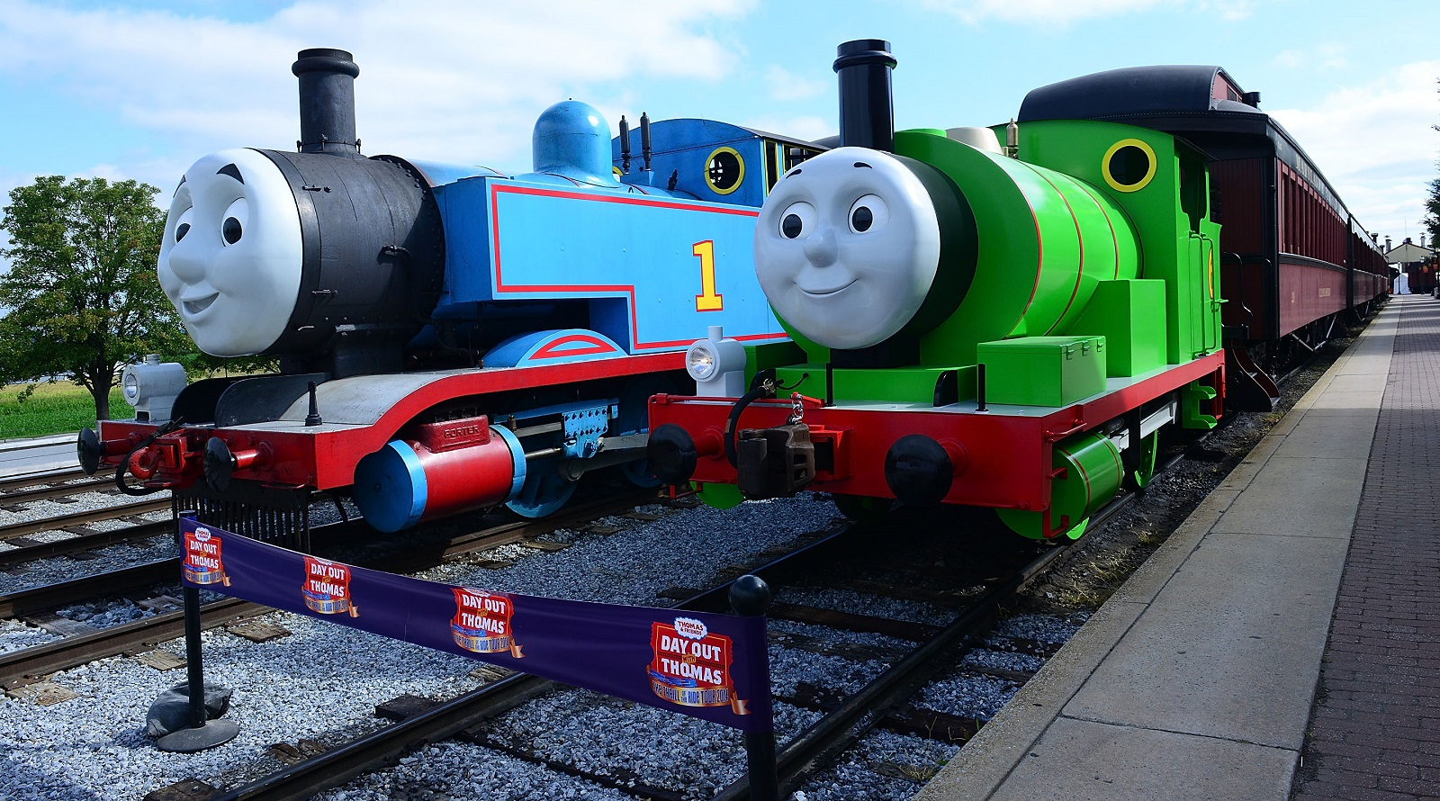 A Day Out with Thomas stops by Medina for some family fun. (Getty Images)
