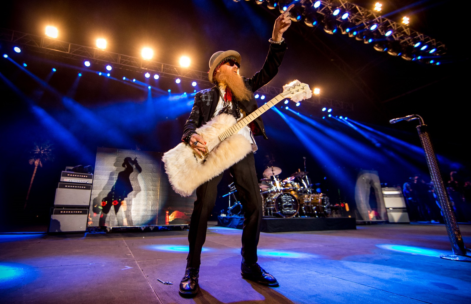 ZZ Top will perform with Greg Allman at Artpark this summer. Pictured is Billy Gibbons of ZZ Top. (Getty Images)