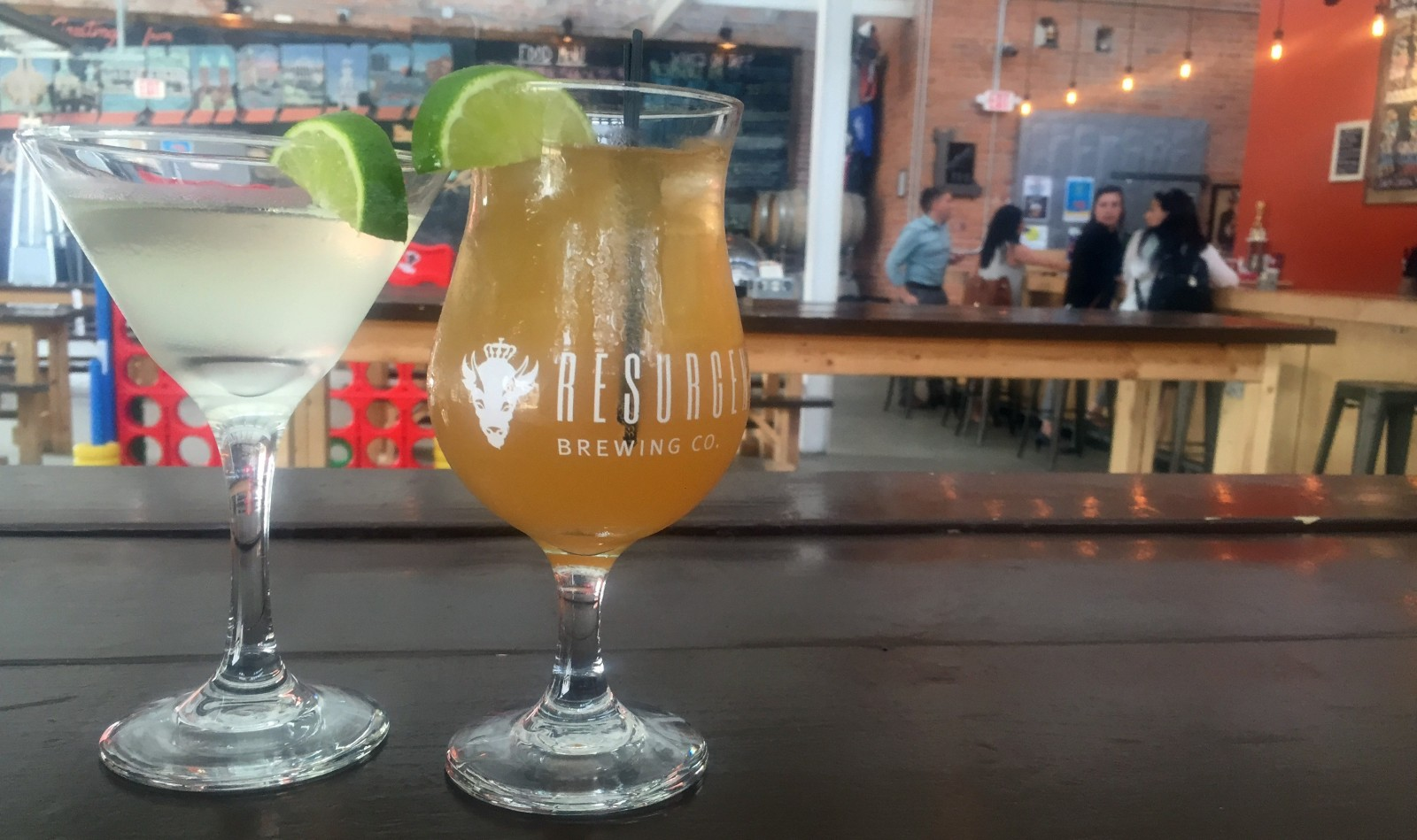 Resurgence Brewing Co. has a new cocktail menu. (Photo courtesy Resurgence Brewing Co.)
