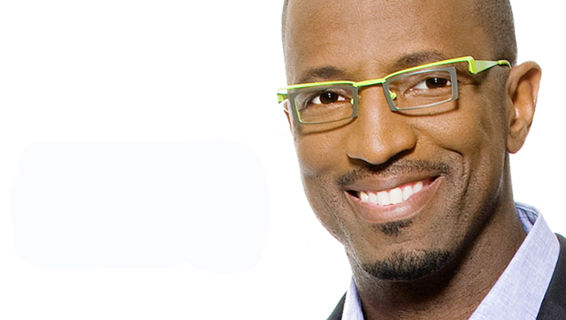 Comedian Rickey Smiley has appeared in several movies and television shows.