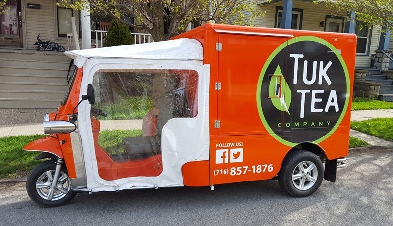 Tuk Tea sells hot and cold teas from a truck. (Via Tuk Tea's Facebook page)