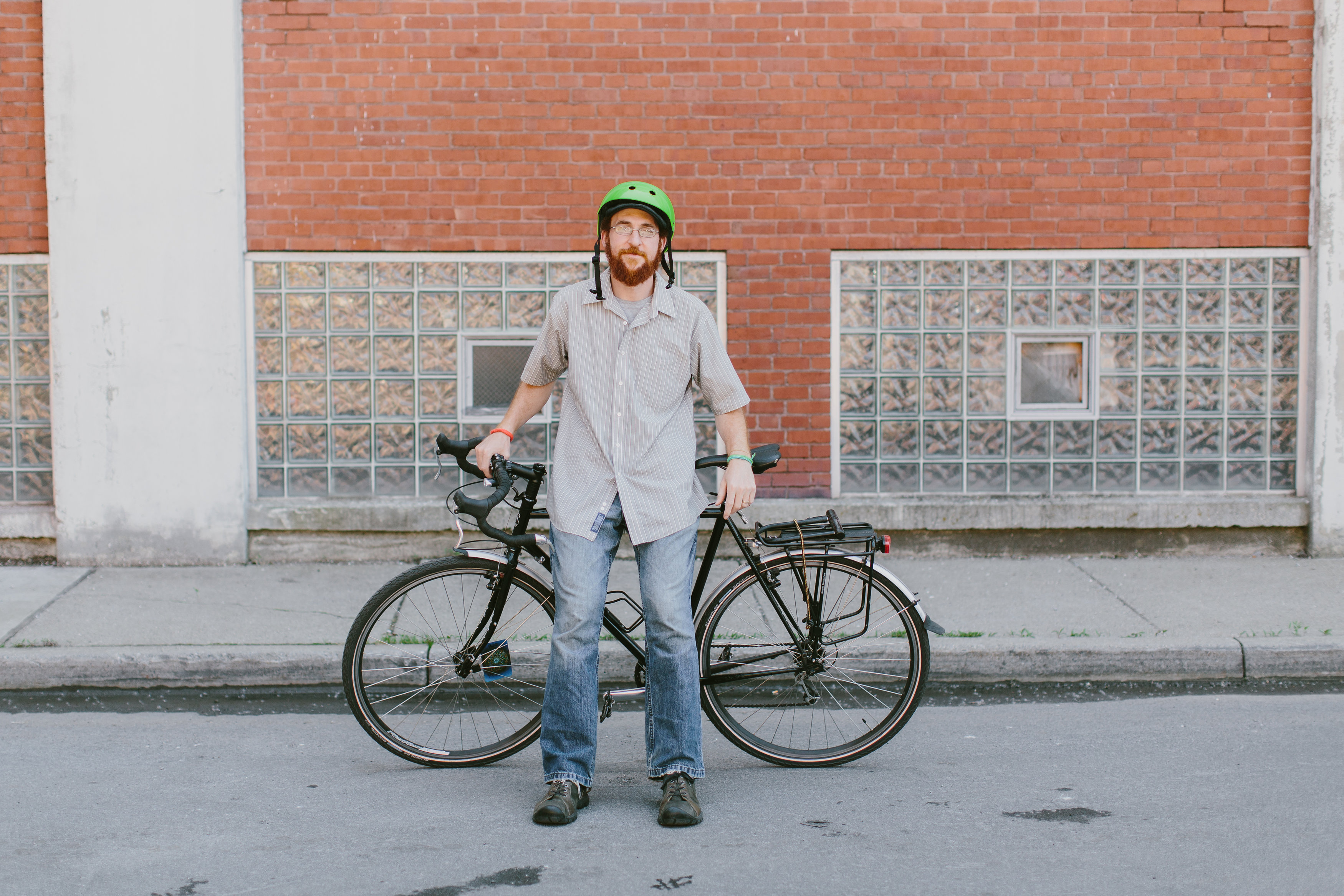 More than 50 events are listed on the GObikeBuffalo.org website, says Henry Raess, the nonprofits event manager. (Photo by Sam Insalaco)