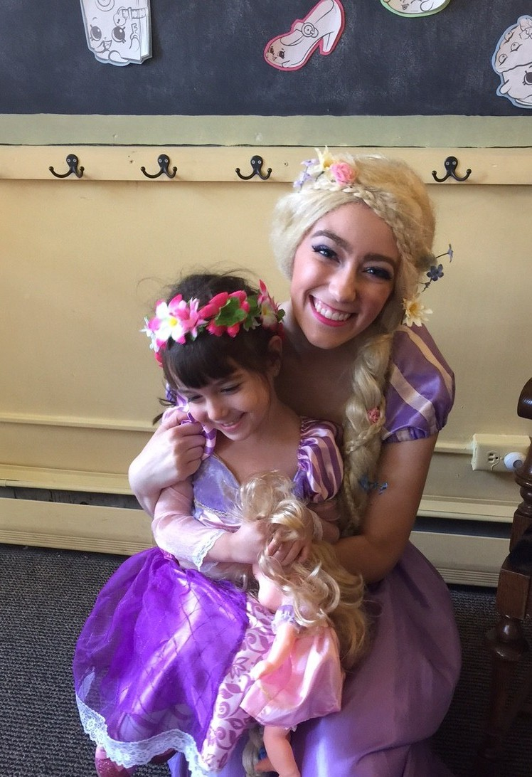 The princess parties are a big hit. (Mary Friona_Celani/ Special to The News)