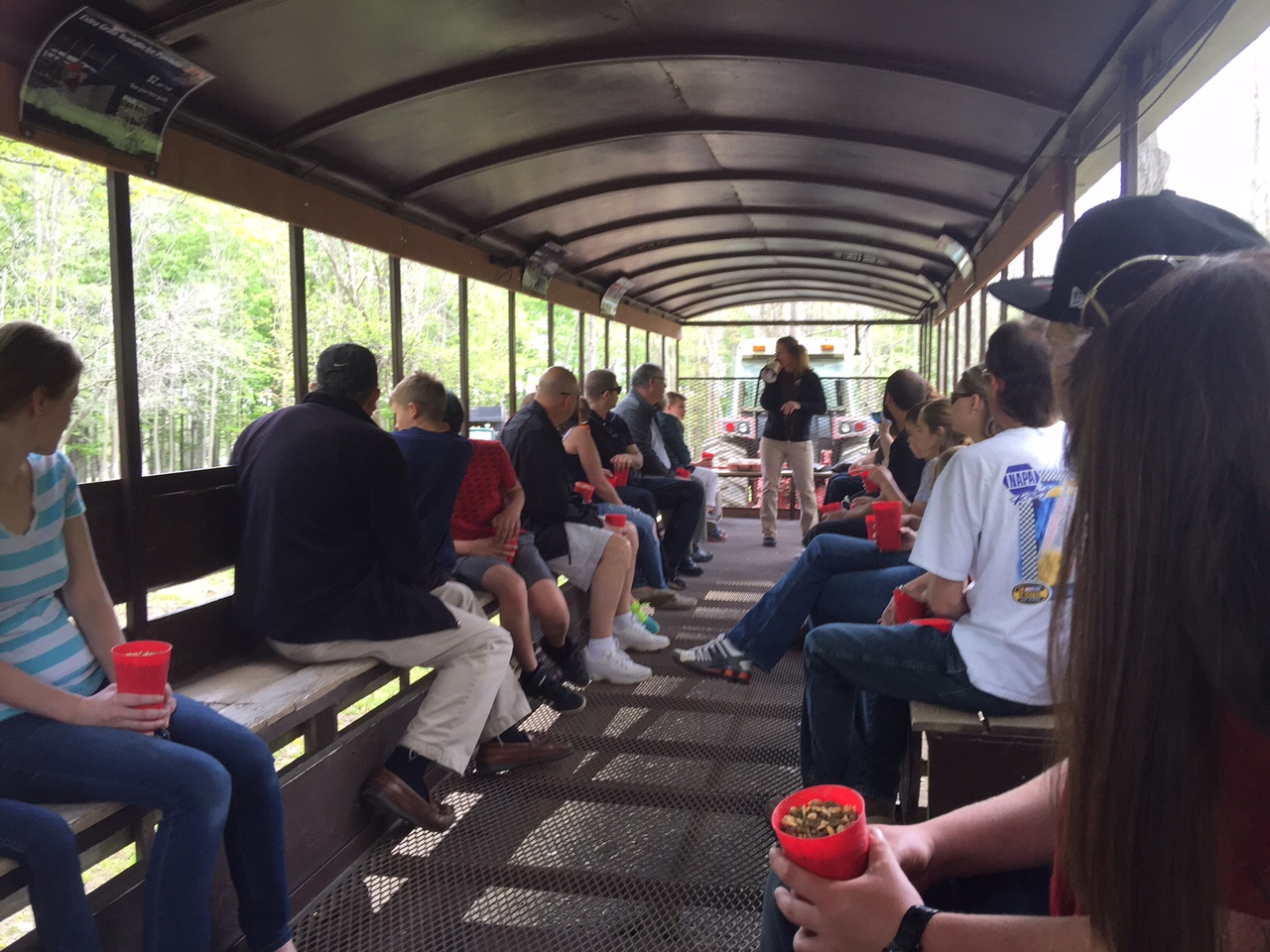The 55-minute tour is a thrill for guests. Mary Friona-Celani/Special to The News