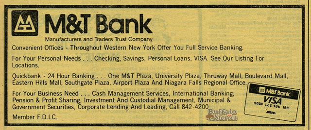 1979 ad. Buffalo Stories archives
