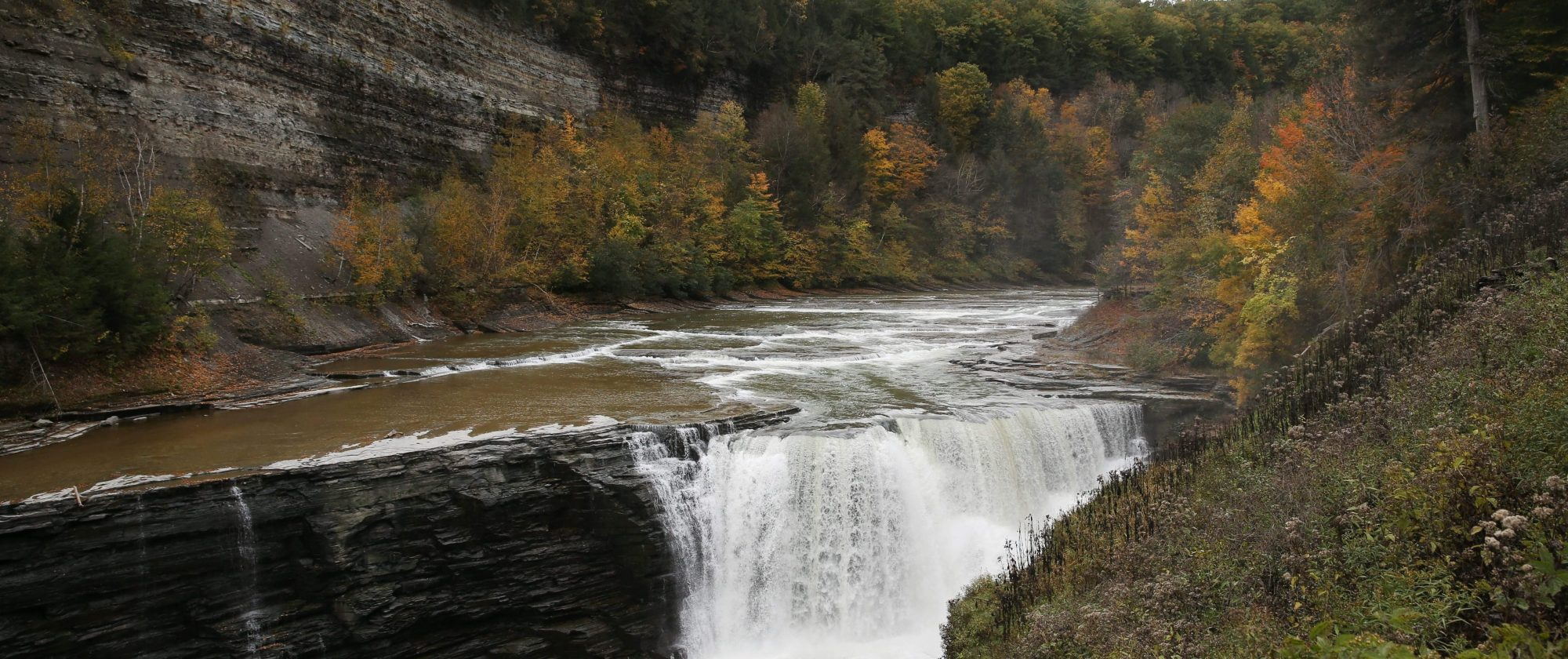 Letchworth State Park is a popular destination to view fall foliage. (Sharon Cantillon/News file photo)