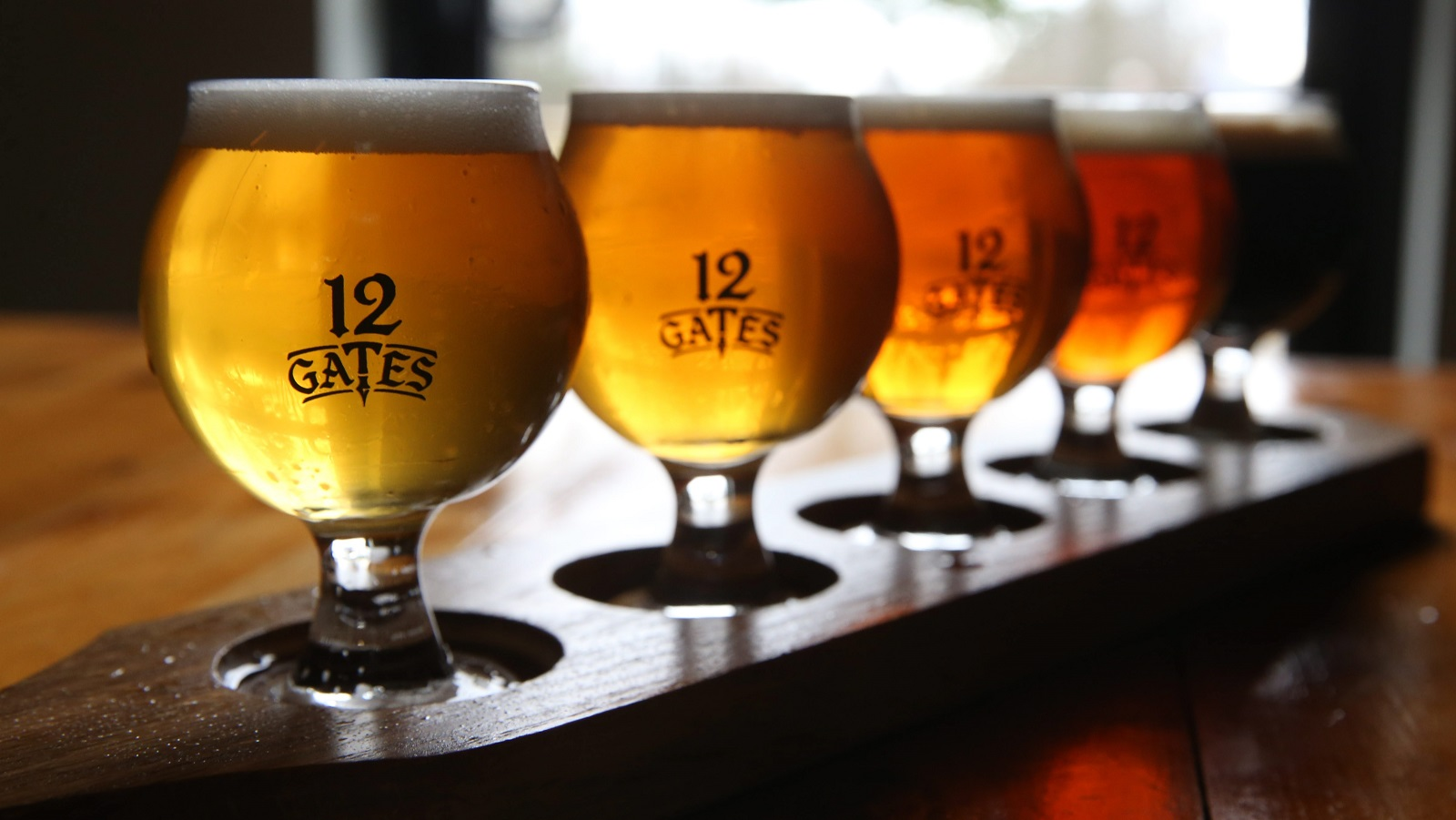 12 Gates Brewing Company celebrates its first anniversary. (Sharon Cantillon/Buffalo News file photo)