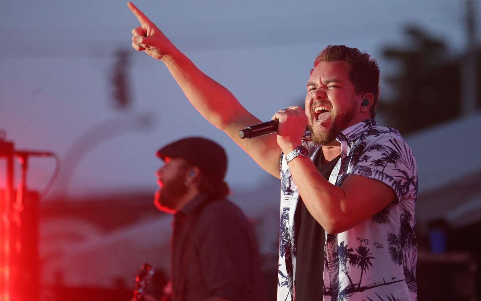 The Eli Young Band, with singer Mike Eli, performs at Friday's Taste of Country at Coca Cola Field. (Sharon Cantillon/Buffalo News)