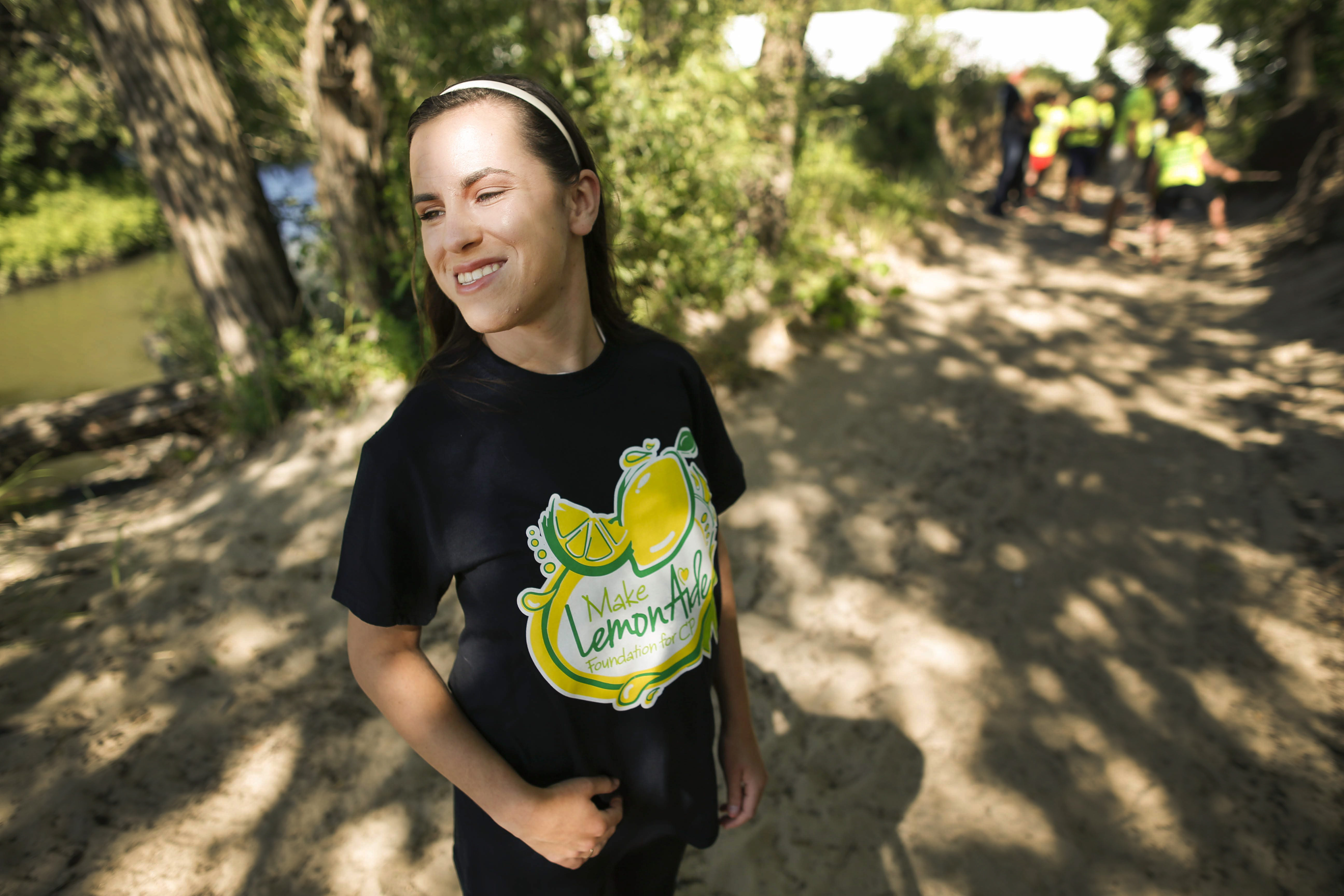 Lauren Walier, of Milton, Ga. will attend the fifth annual fifth annual Walk/Run/Roll in Lauren's Shoes this weekend on the Buffalo Outer Harbor. The accessible event has grown to include many participants with walkers, wheelchairs and strollers. (Derek Gee/News file photo)