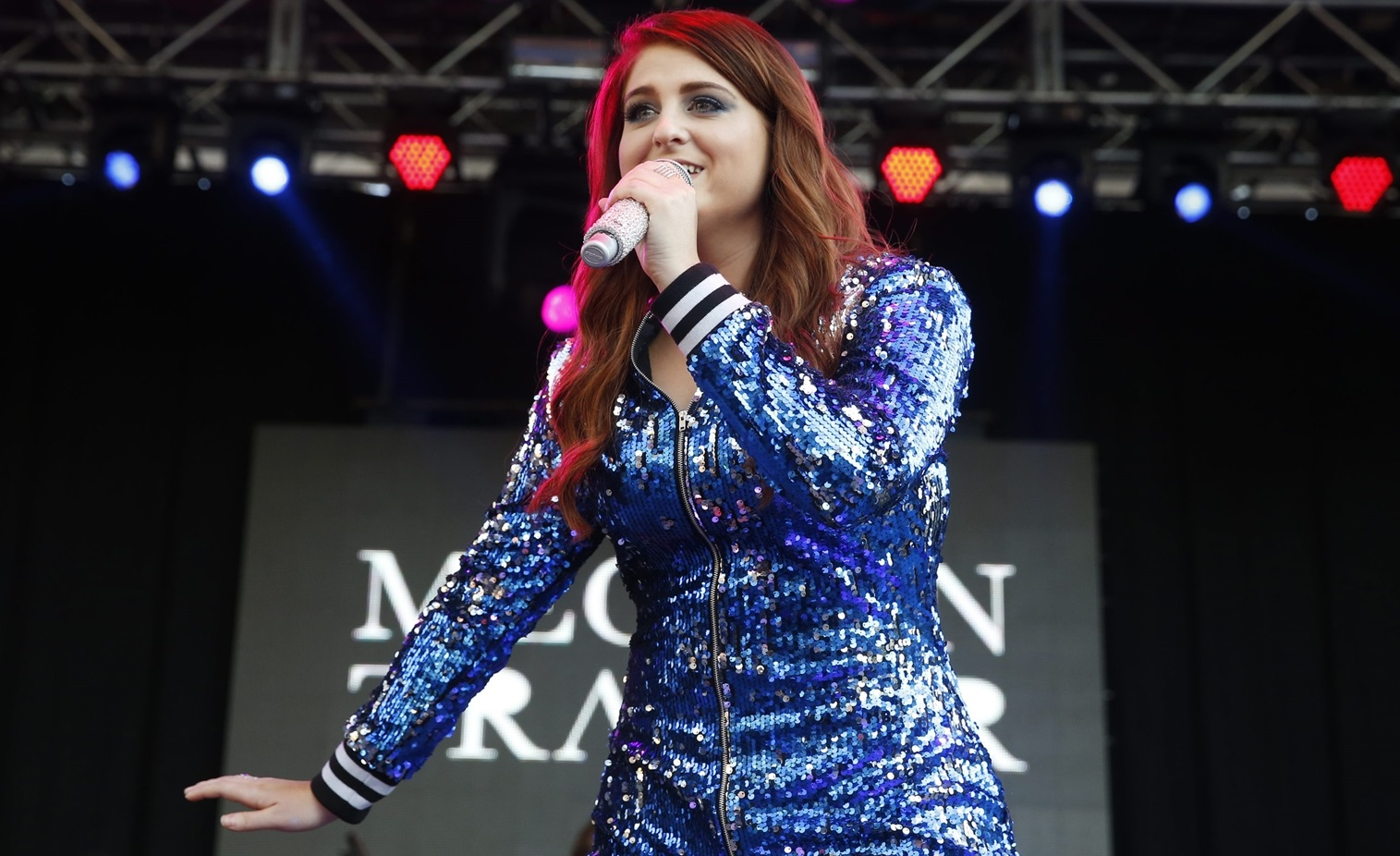 Meghan Trainor discusses the reaction to Christina Grimmie's death. (Harry Scull Jr./Buffalo News)