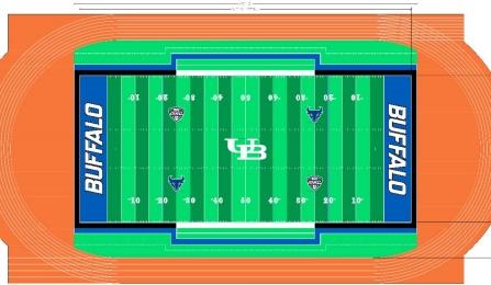 UB to install new turf football field as part of rebranding