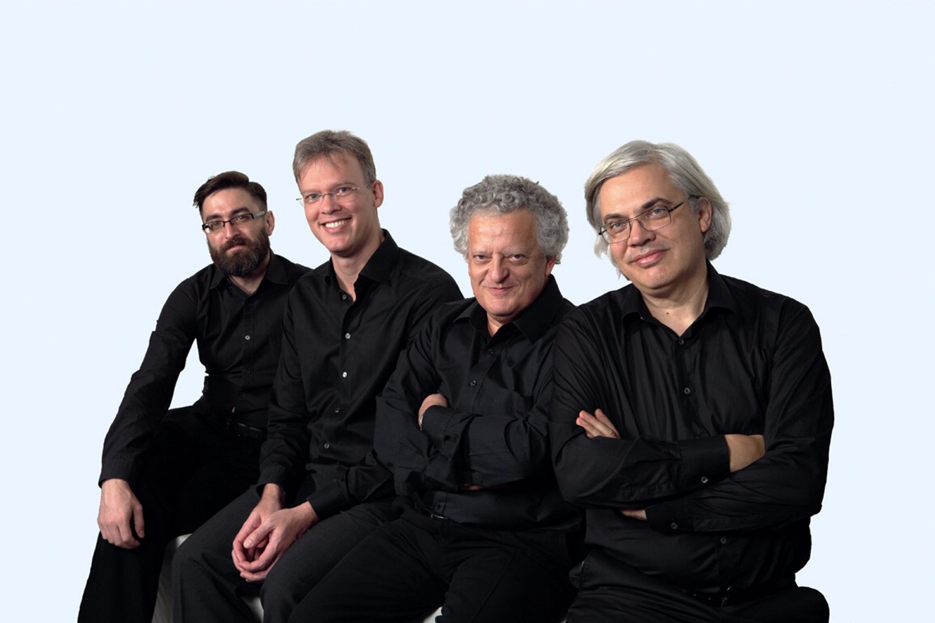 The Arditti Quartet took part in workshops and performed at June in Buffalo. (Photo Astrid Karger)