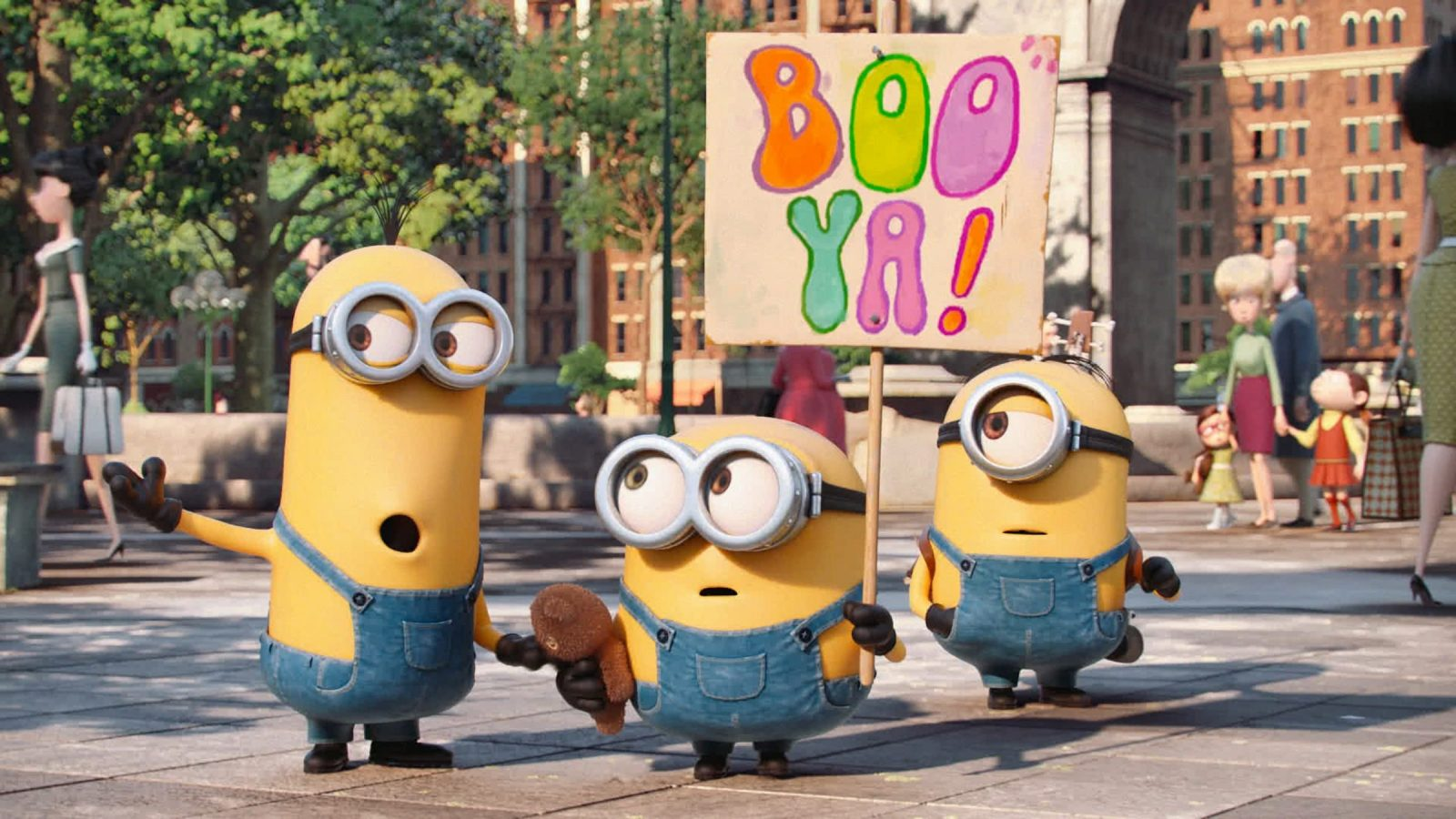 """""""Minions"""" will be shown for free on June 29 and July 2 as part of the Aurora Theatre classic family film series."""