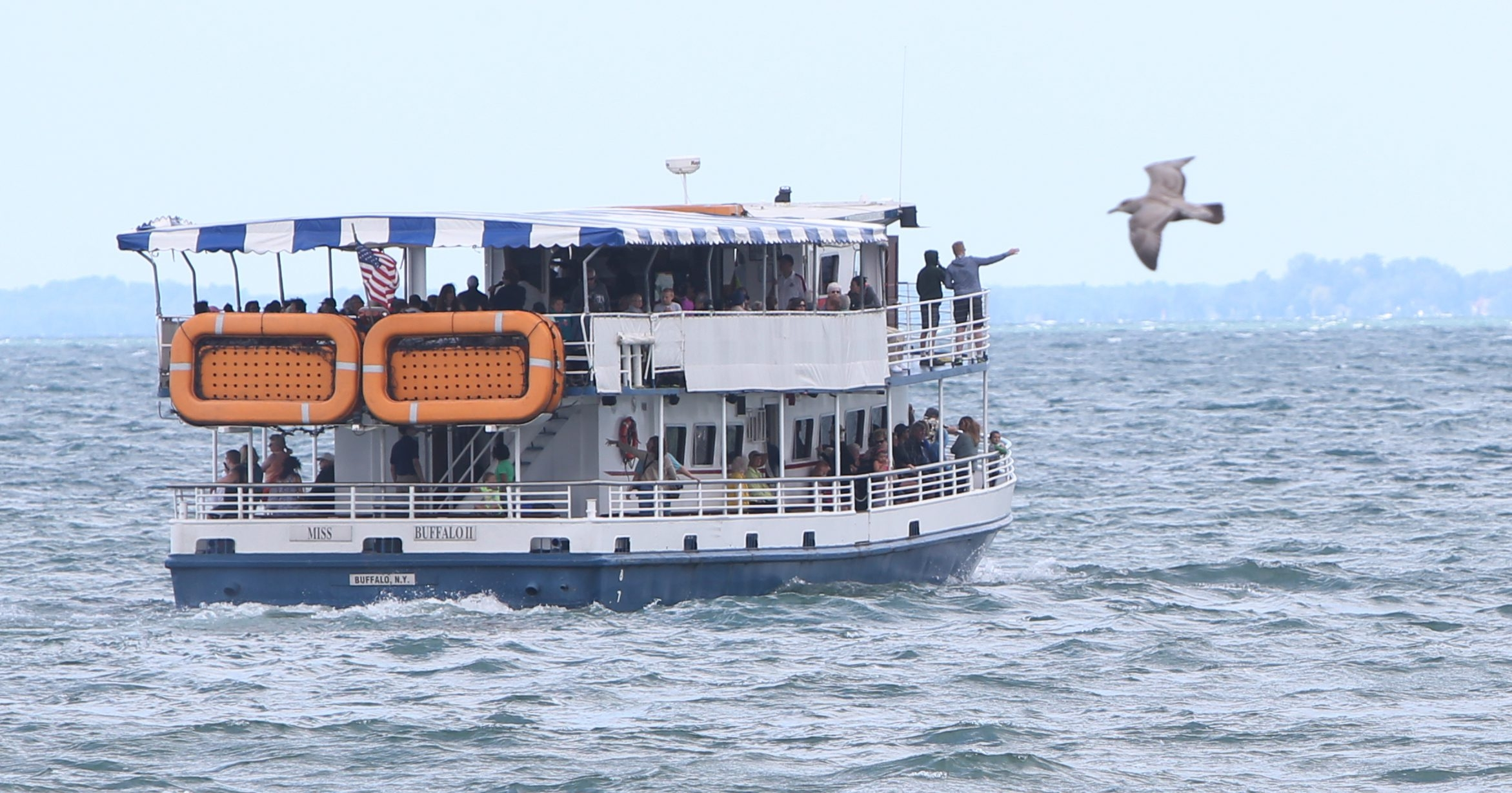 Experts will provide commentary during a June 11 Penn Dixie cruise aboard the Miss Buffalo. (Sharon Cantillon/Buffalo News)
