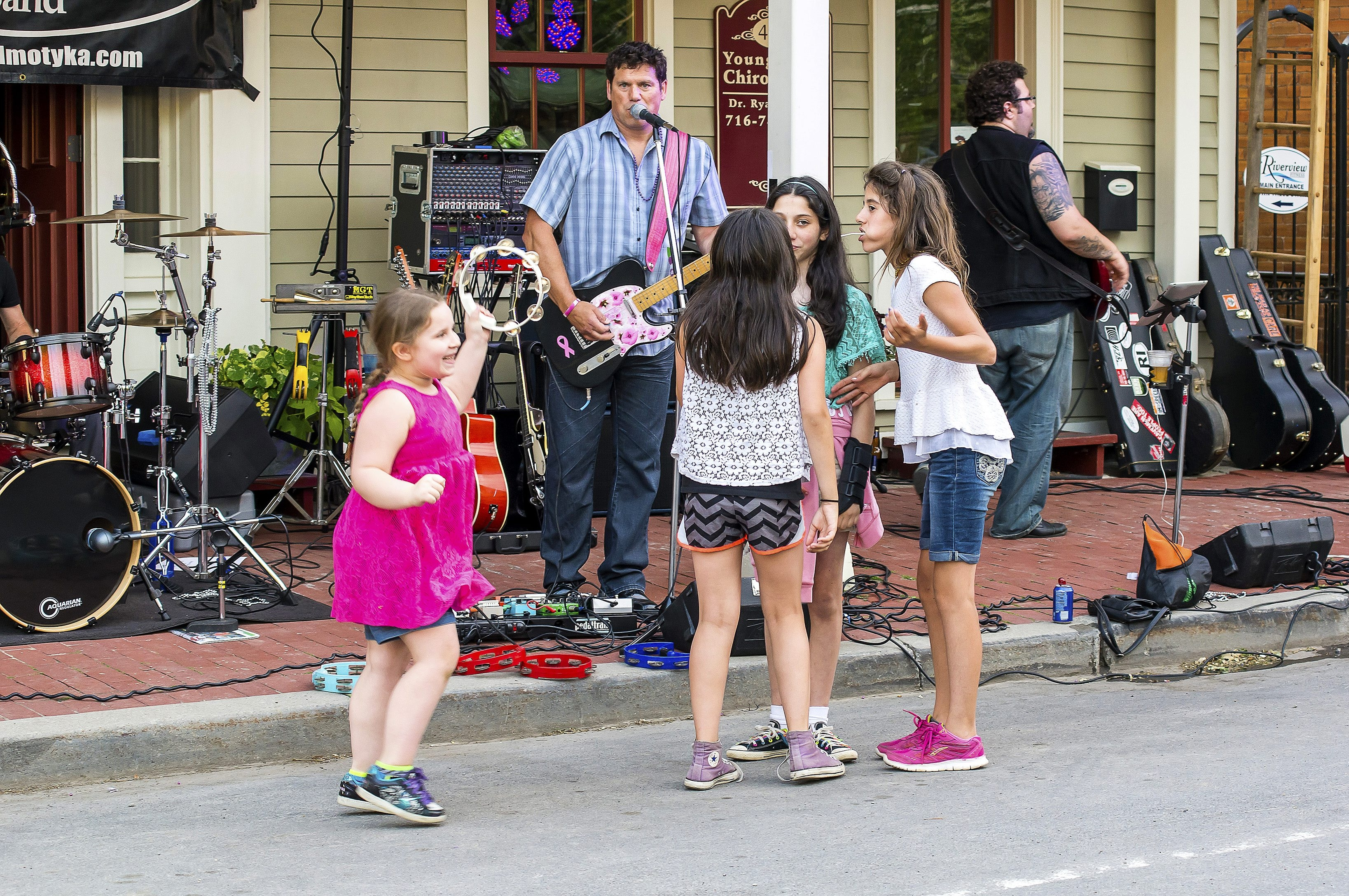 Youngstown's seventh annual Street Dance will feature family-friendly activities, including a classic car show, a bounce house and face painting.