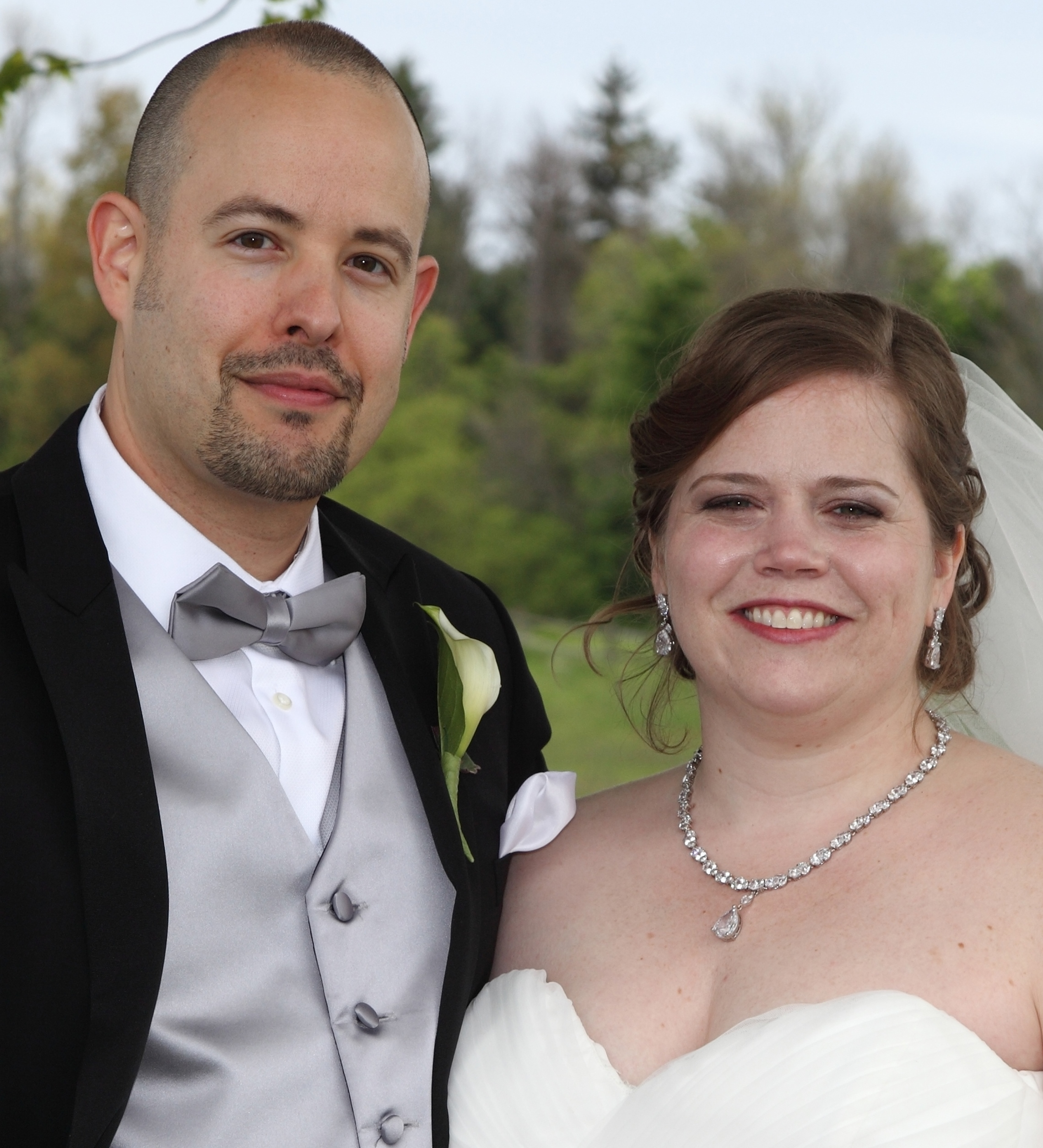 Jeanne G. Carmichael and Brian J. Hoeckh marry