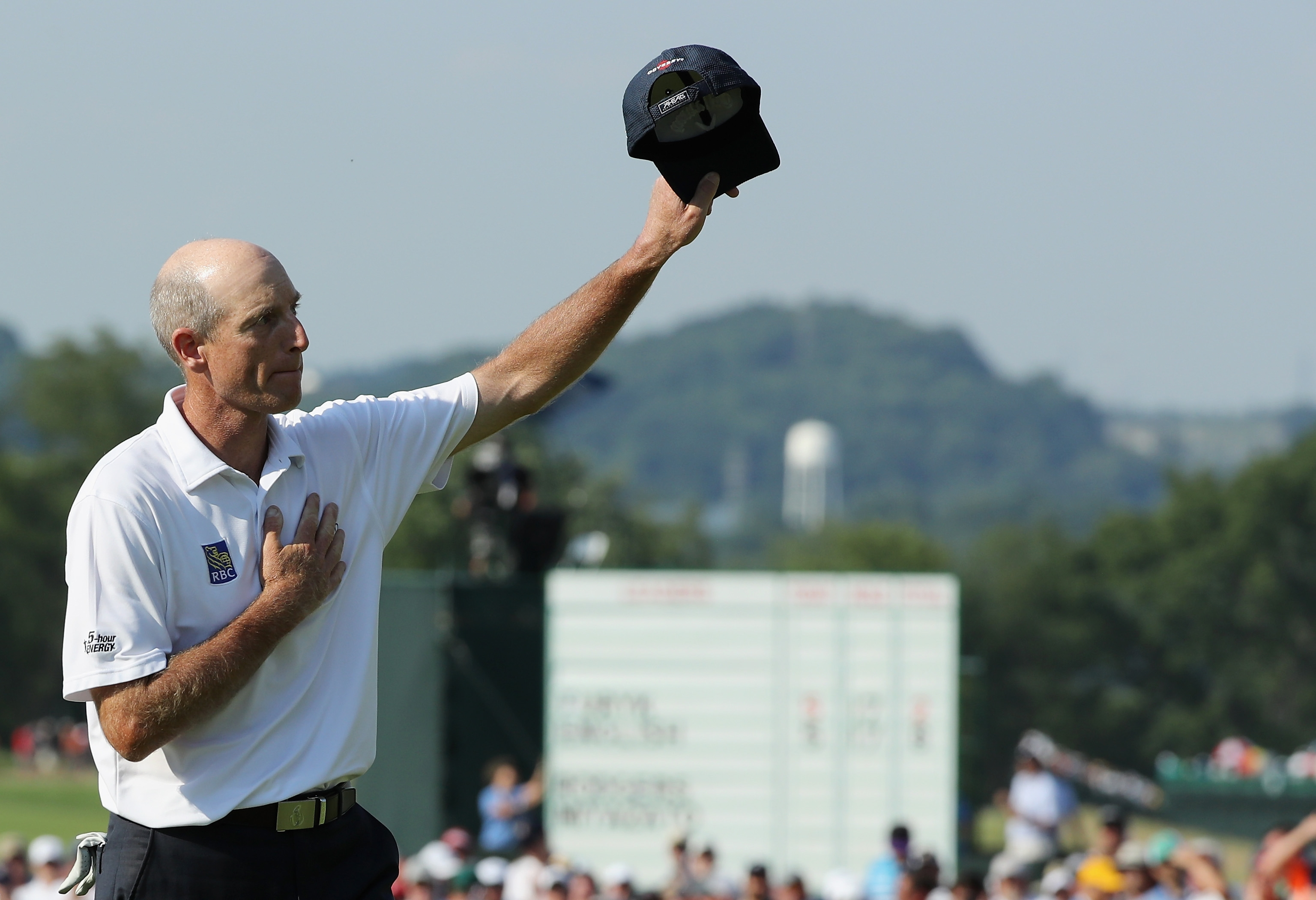 Jim Furyk was a favorite of the Western Pennsylvania gallery as he moved up the leader board on Sunday in the U.S. Open.