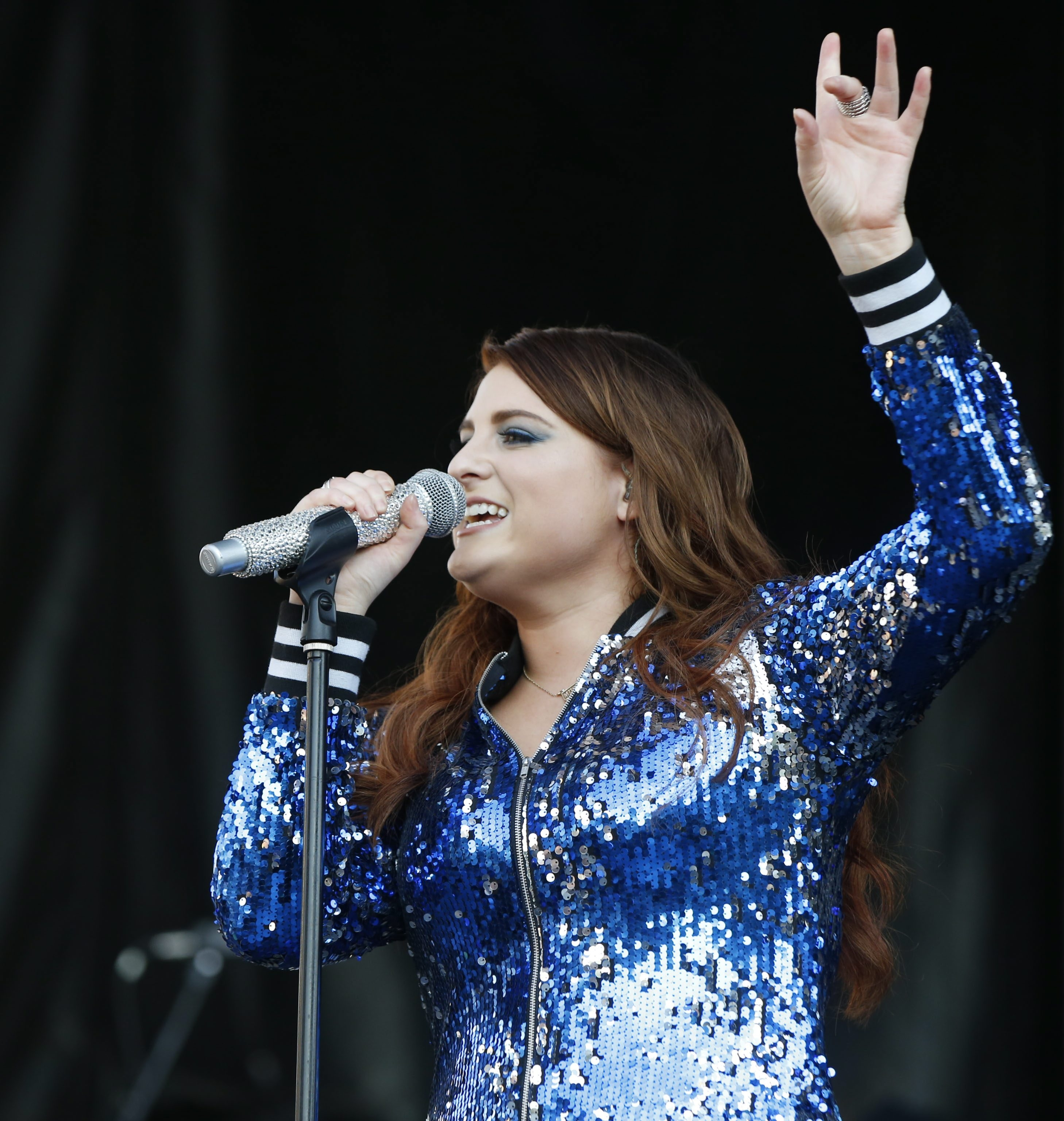 Meghan Trainor, performing Sunday at Kiss the Summer Hello, admits she worries about safety. See a photo gallery at buffalonews.com.