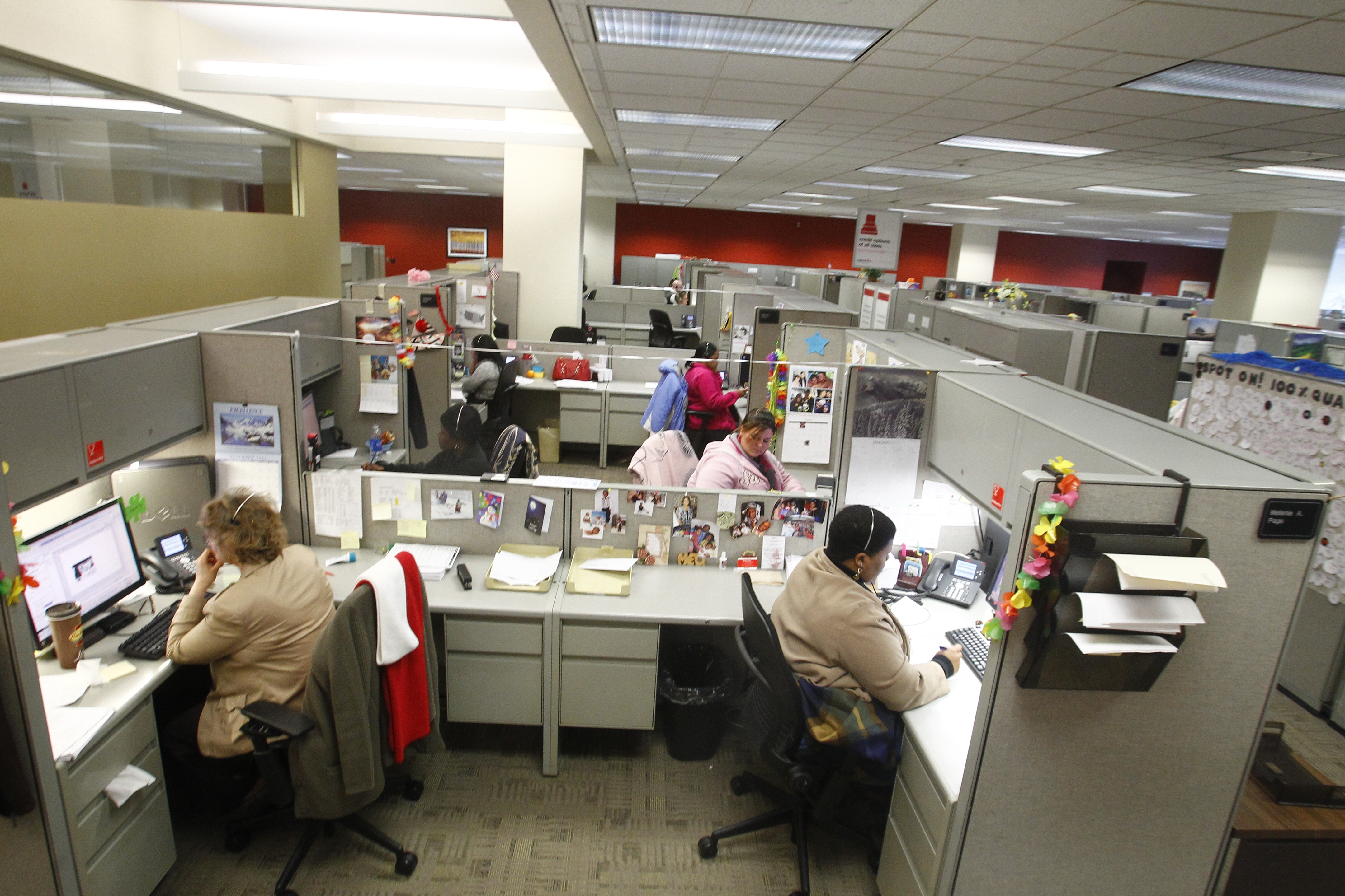 KeyCorp is adding jobs at its customer contact center at 3920 Main Street in Amherst (Photo by John Hickey / Buffalo News)