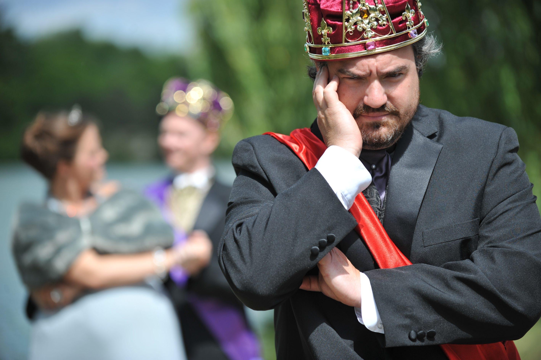 """Matt Witten stars in Shakespeare in Delaware Park's production of  """"The Winter's Tale,"""" opening Thursday."""
