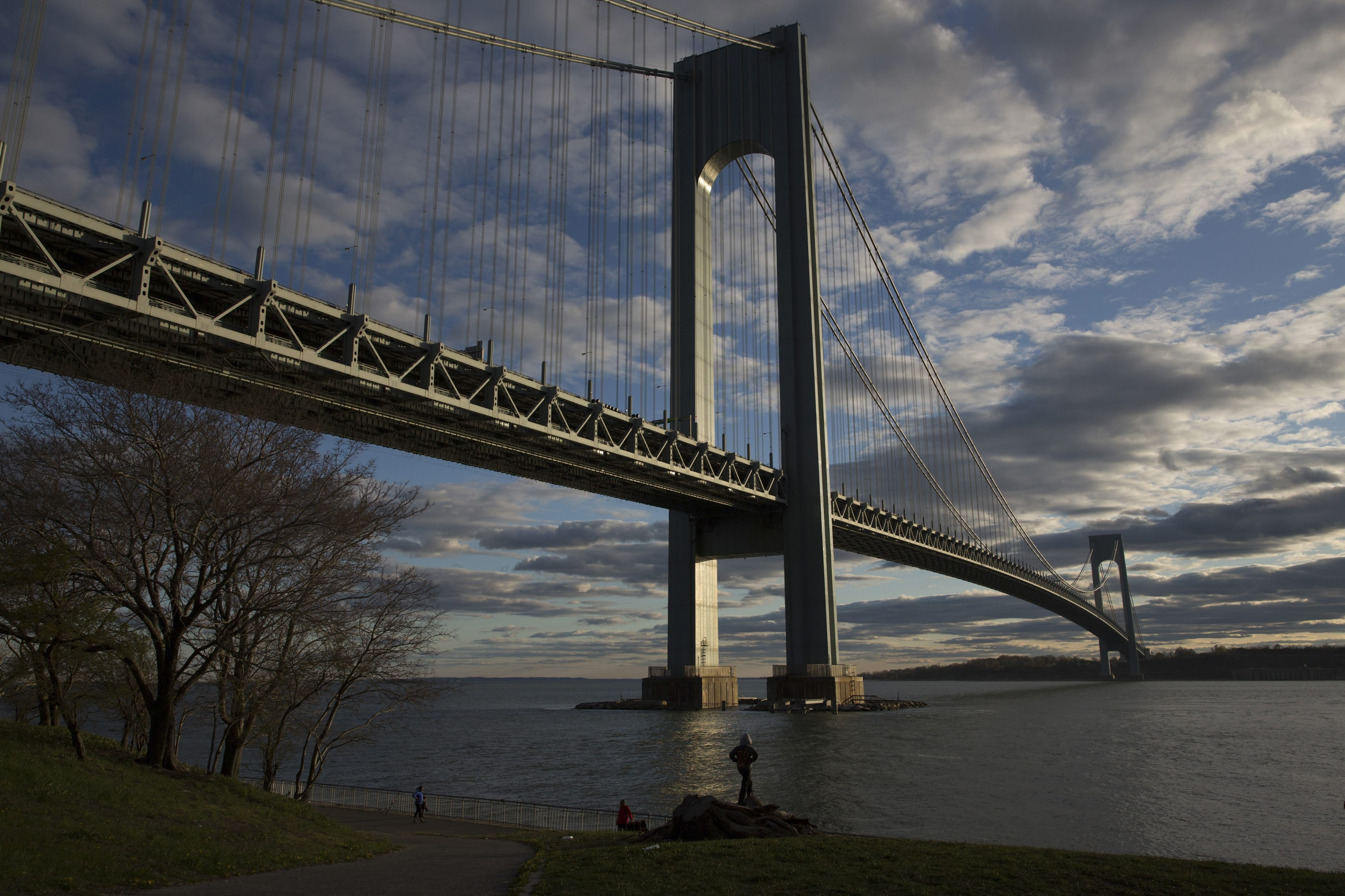 The Verrazano-Narrows Bridge is named for Italian explorer Giovanni da Verrazzano, the first European to enter New York Harbor. His name has been spelled incorrectly since the bridge opened in 1964.
