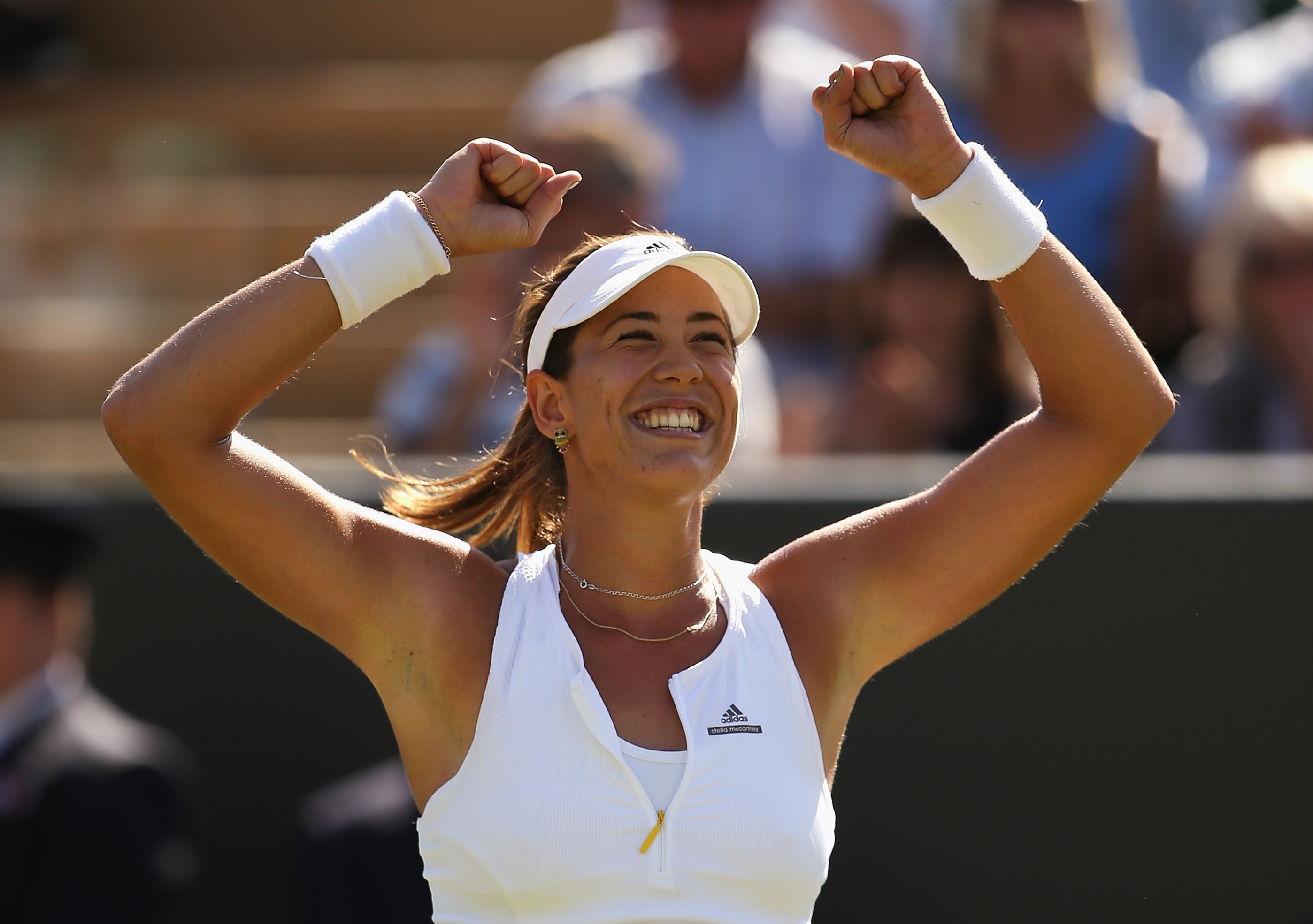 Garbine Muguruza of Spain cis a force to be reckoned with for years to come (Getty Images).