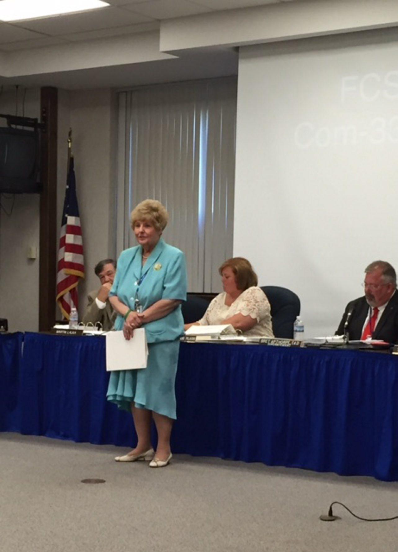 Retiring Big Tree Elementary Principal Joanne C. Saniewski is stepping down after 52 years in education.