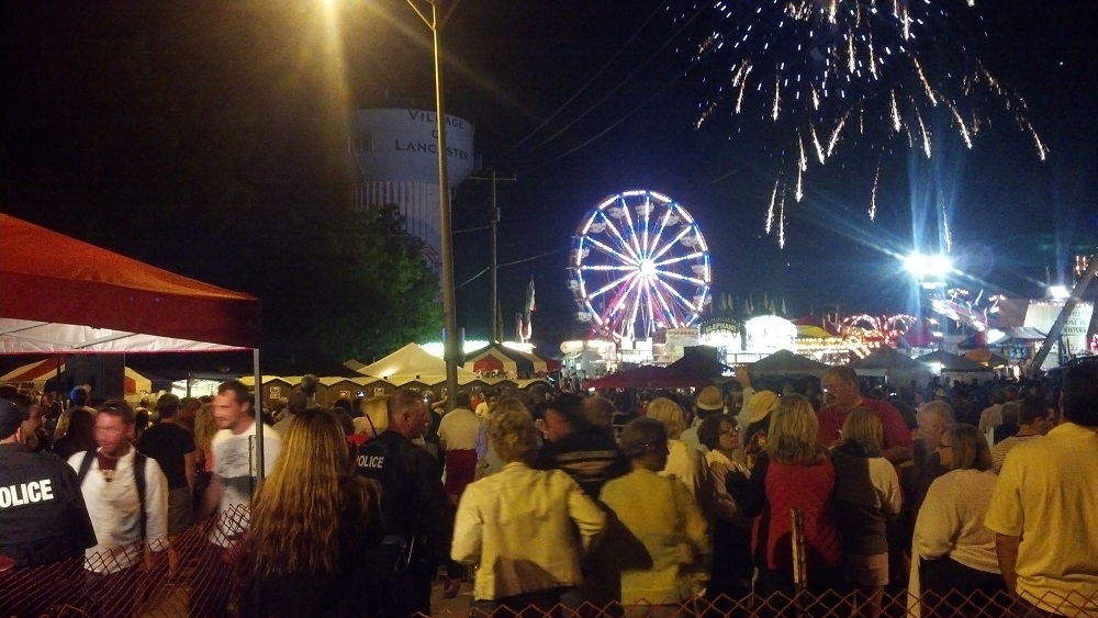 Village residents enjoy last year's Independence Day celebration. (Photo provided by Dawn Gaczewski, village special events coordinator)