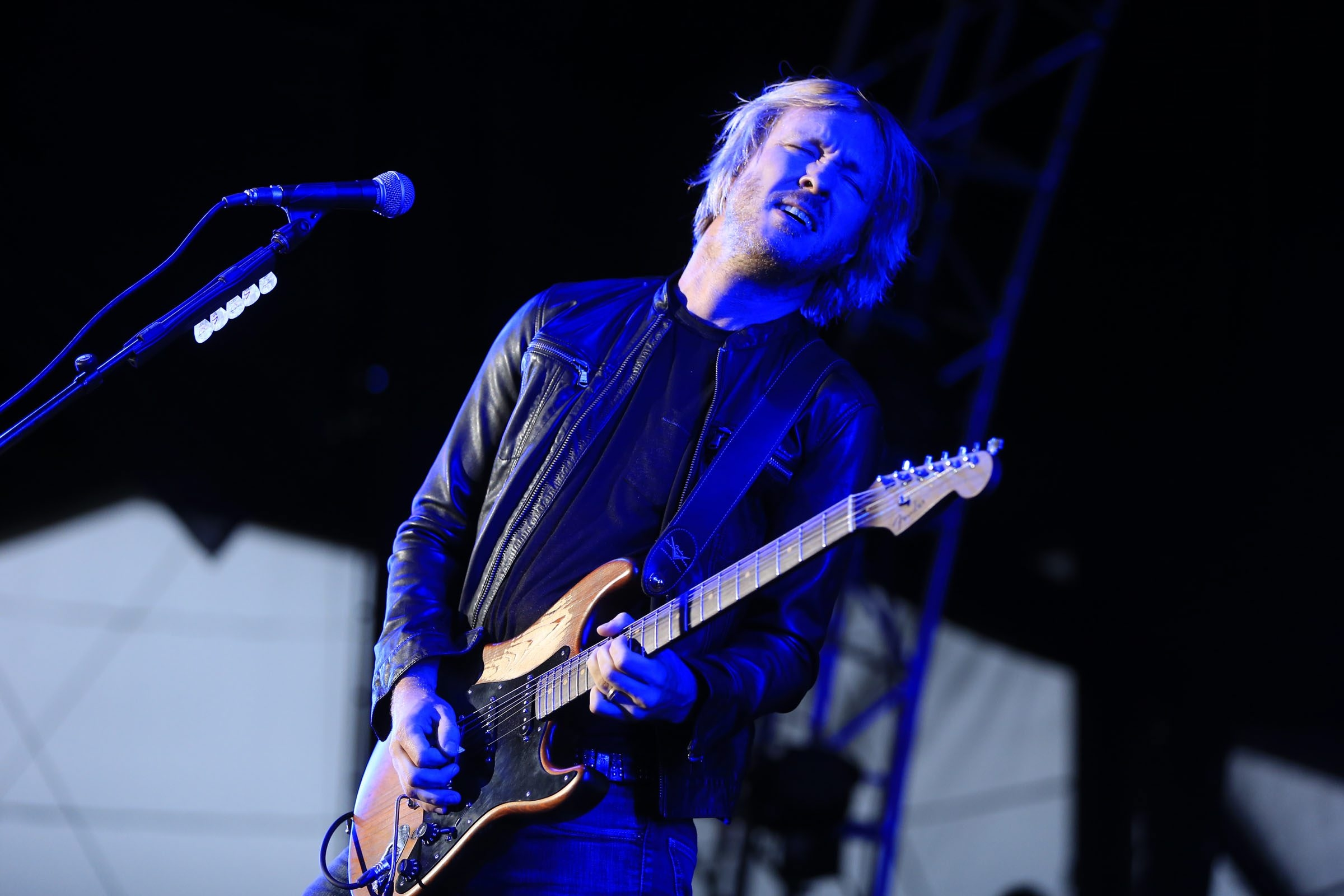 Kenny Wayne Shepherd, seen here performing at Darien Lake last summer, brought his blues to Gratwick Park in North Tonawanda on Friday.  (Harry Scull Jr./Buffalo News)