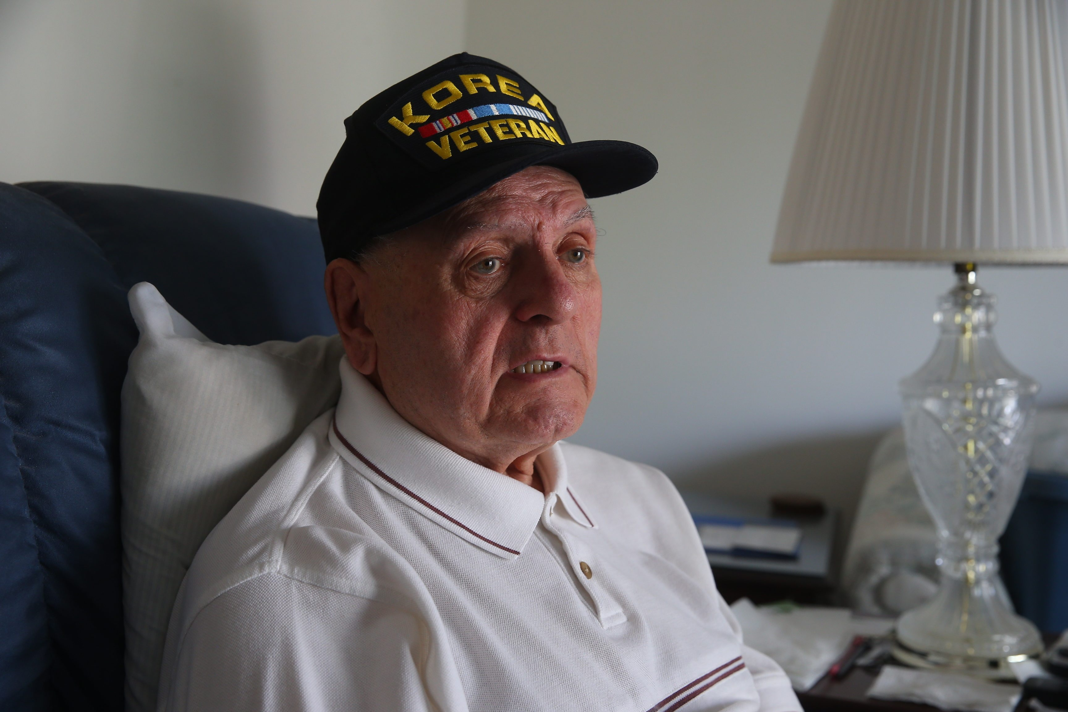 "Alfred A. Runo says his time as a Marine in the Korean War is often on his mind because of all the casualties. ""I was so lucky I never got wounded,"" he says."