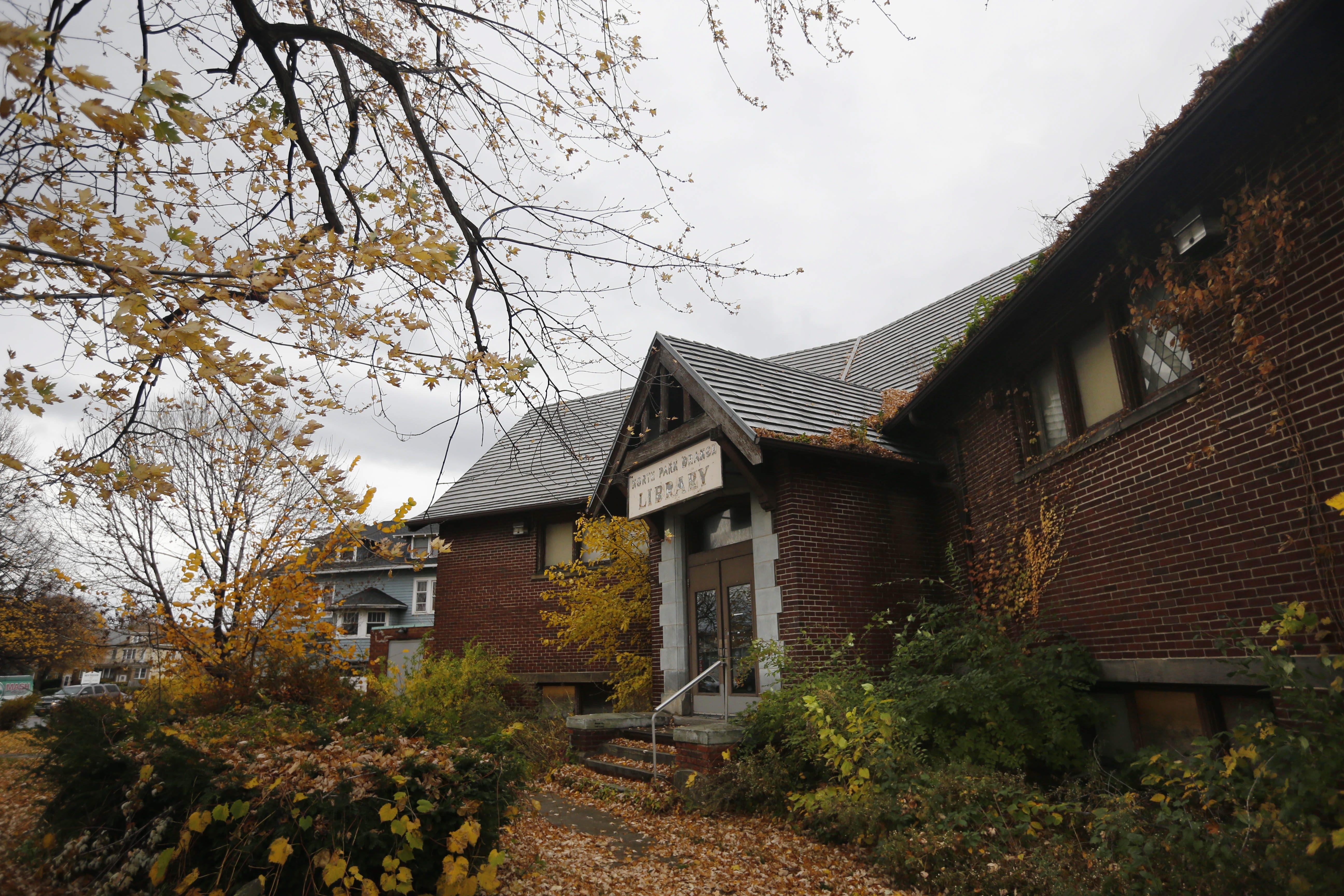 The North Park Library building on Hertel Avenue. (Derek Gee/News file photo)