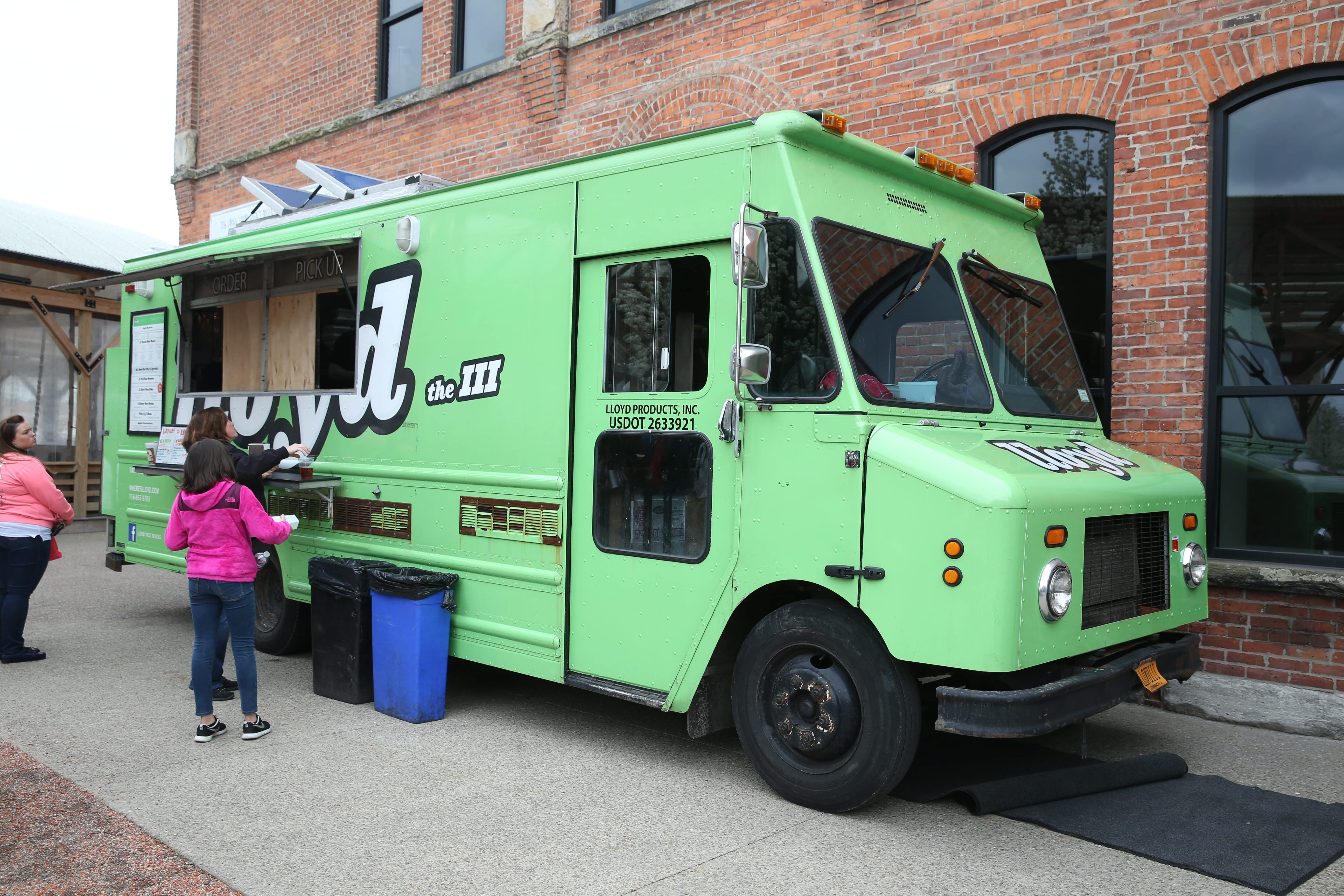 Lloyd Taco Truck at Food Truck Tuesday at Larkinville in May. (Sharon Cantillon/Buffalo News)