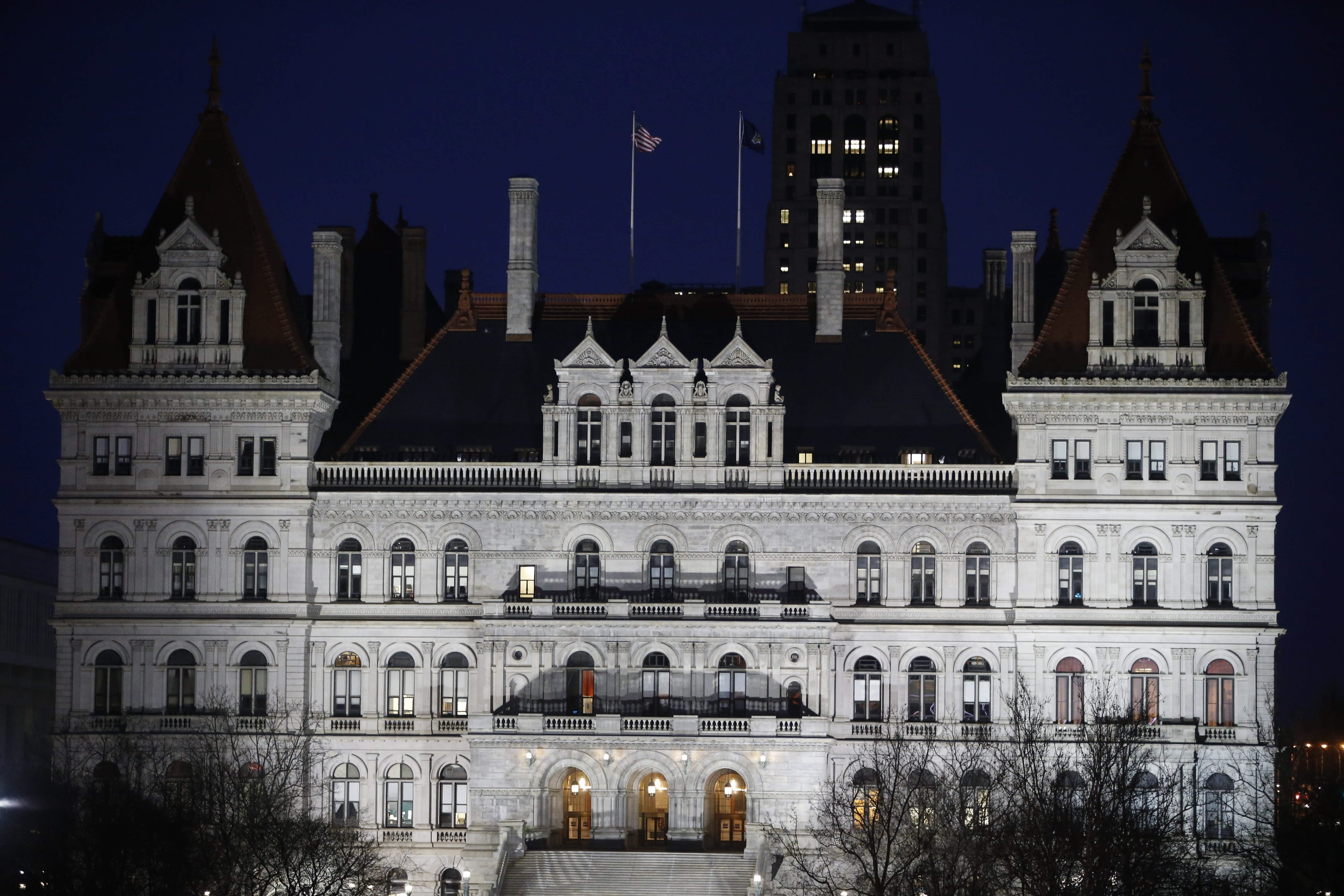 The State Legislature crams far too much work into the last couple of nights of the session. (Derek Gee/Buffalo News file photo)