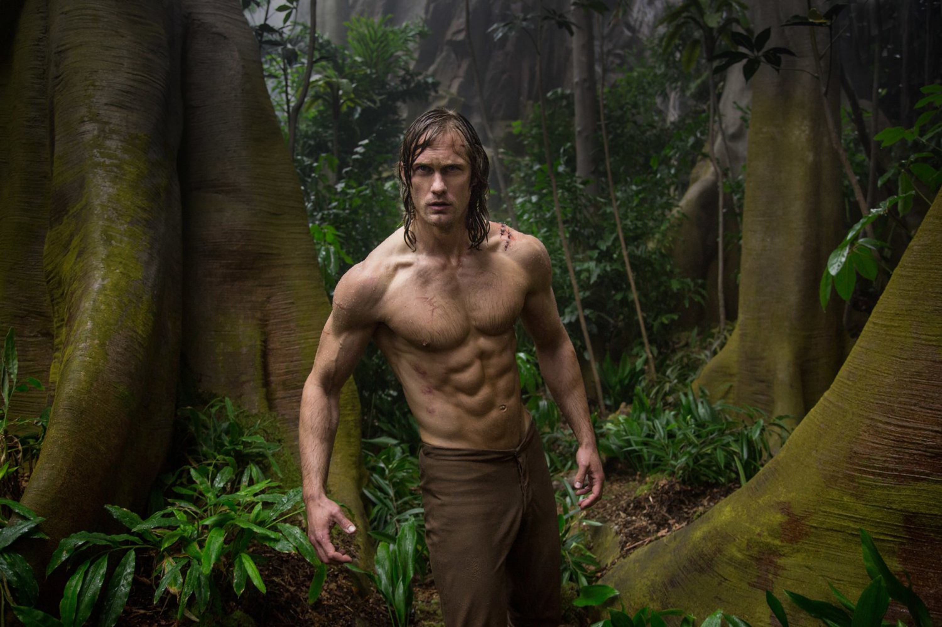 "Alexander Skarsgard in ""The Legend of Tarzan,""  a movie that shows some fo the horrors of imperial colonialism."