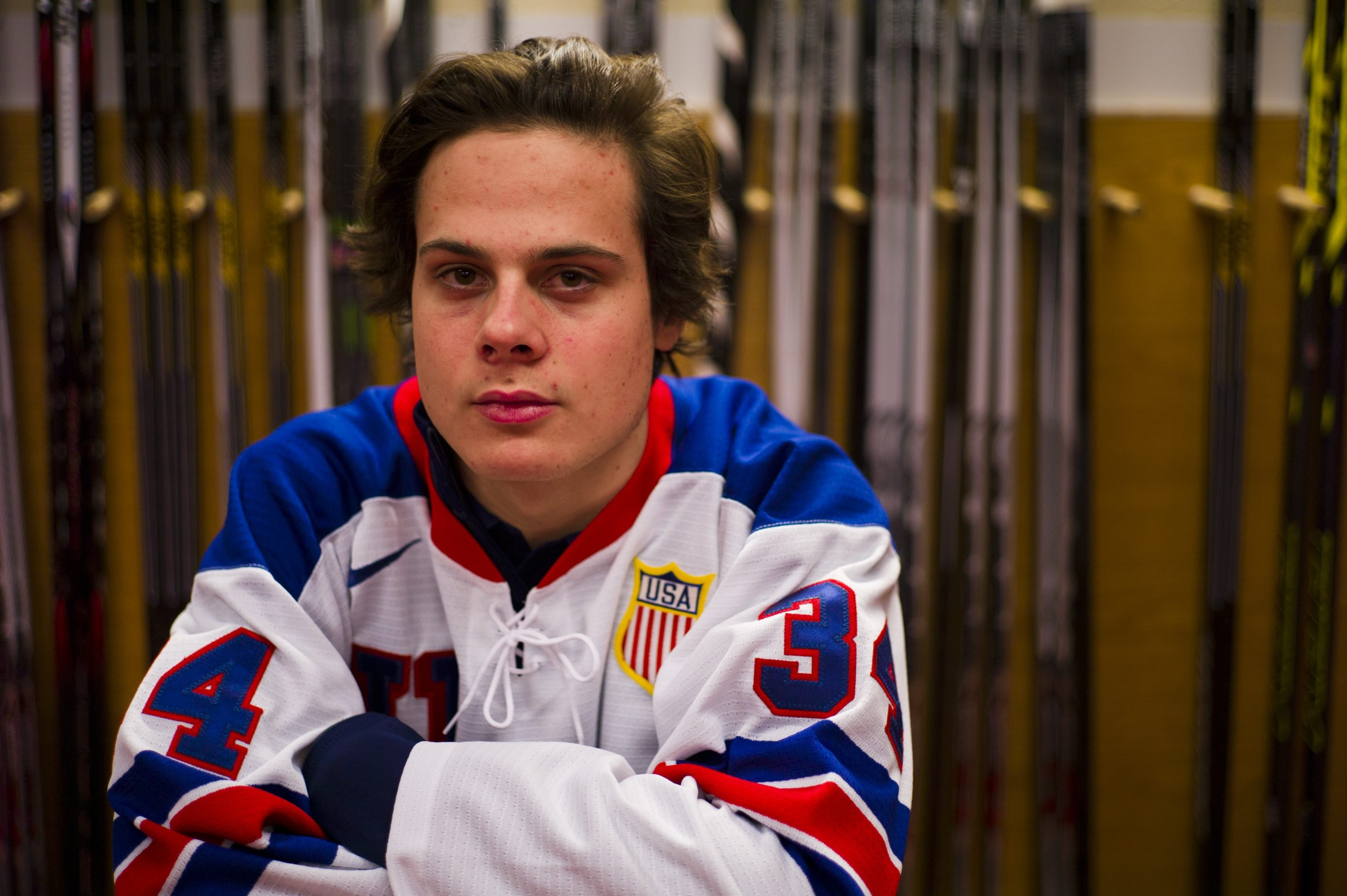 Auston Matthews  spent last season in Switzerland honing his game at the professional level. The Sabres will see a lot of him in the coming years. Maybe too much?
