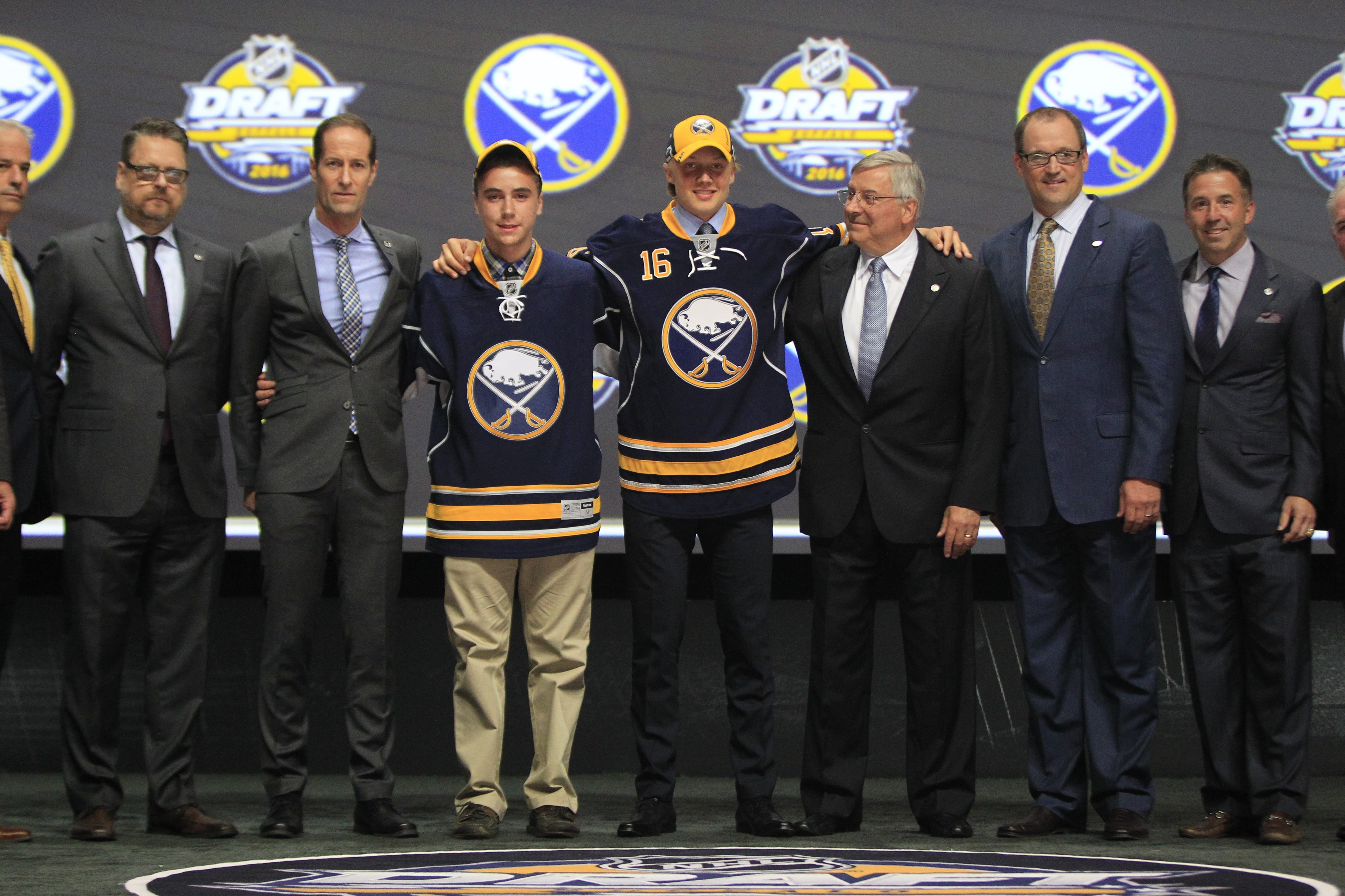 First-round pick Alex Nylander will play in the Sabres Prospect Challenge.